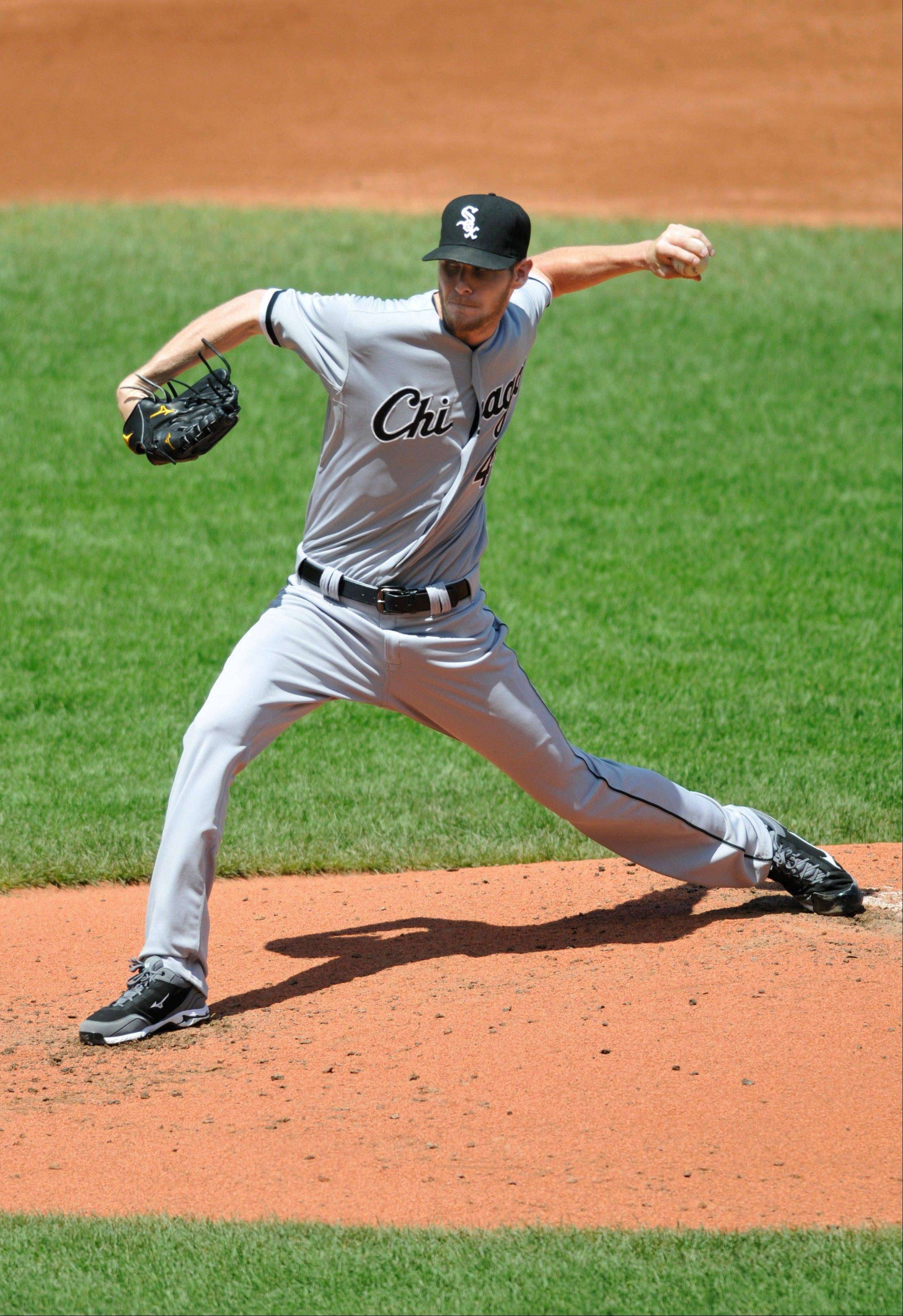 White Sox pitcher Chris Sale allowed 5 runs on 10 hits in 5 innings of work Thursday, falling to 6-11 on the season.