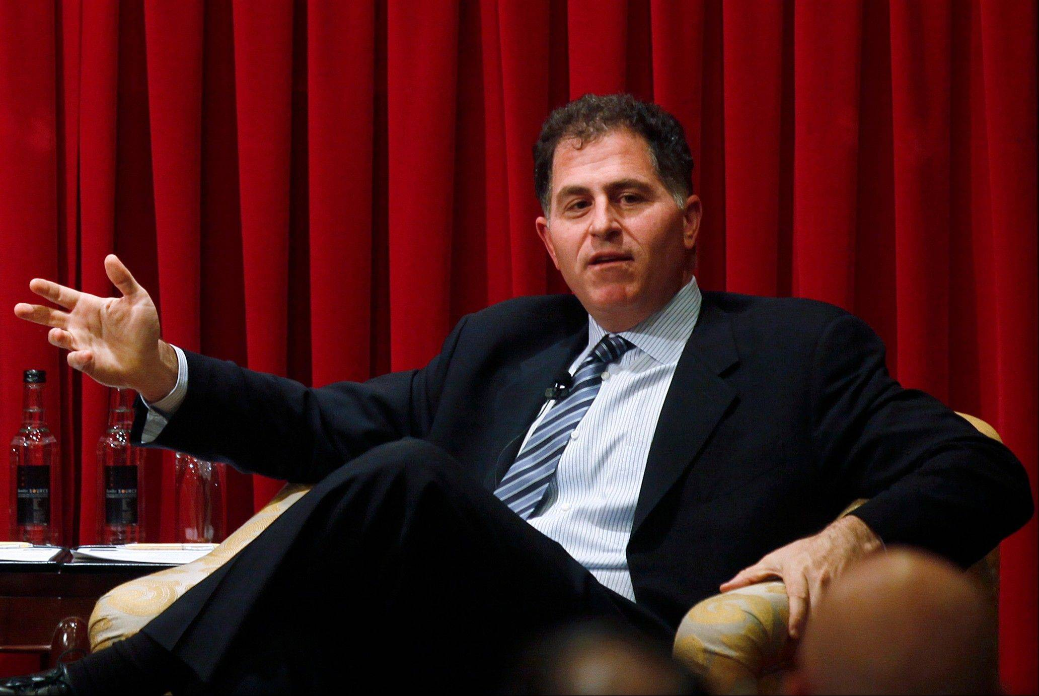 Associated Press/Nov. 2, 2010 Michael Dell, chairman and chief executive officer of Dell Inc.