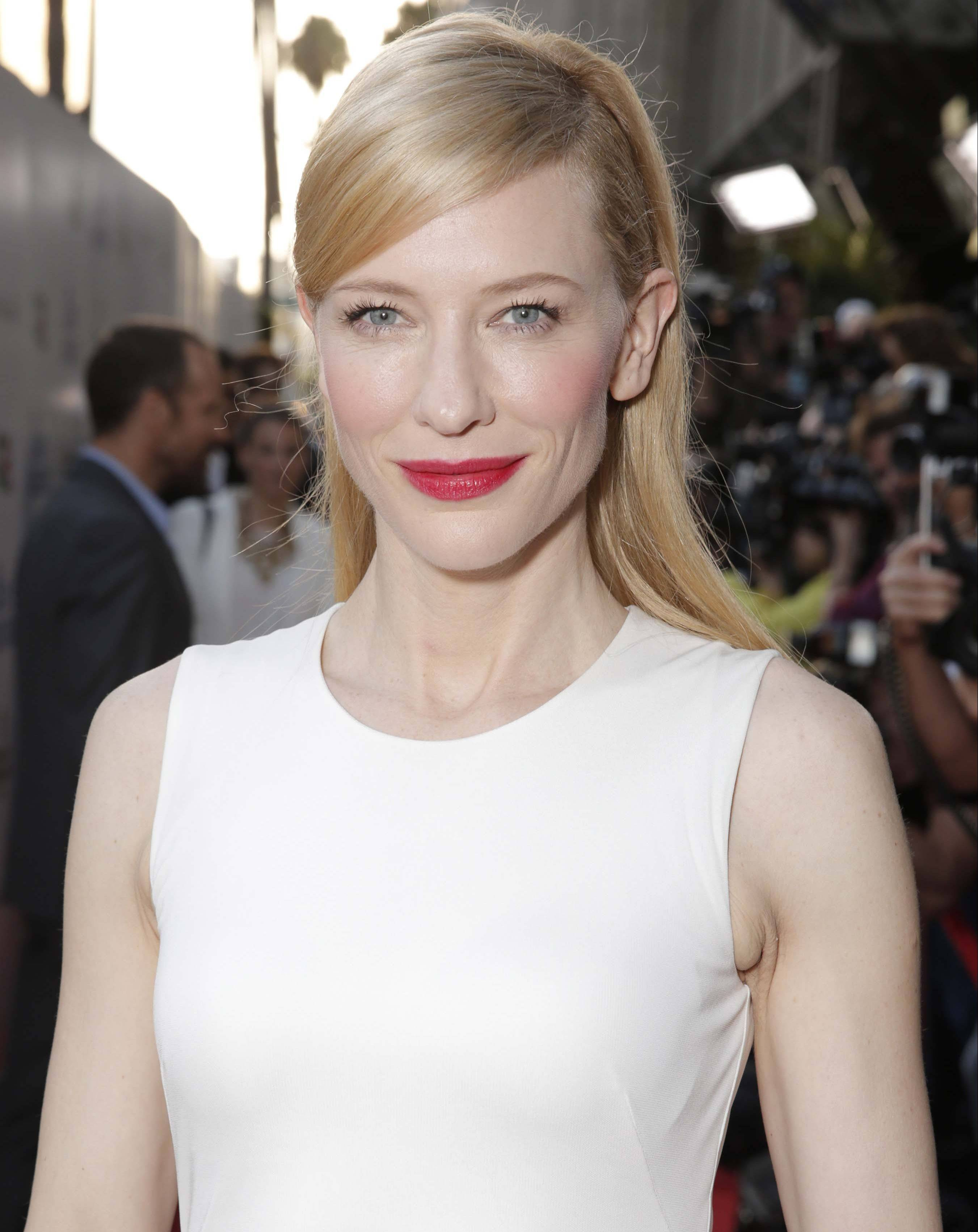 "Cate Blanchett, who stars in Woody's Allen's new film ""Blue Jasmine,"" is adept in movies and theater."