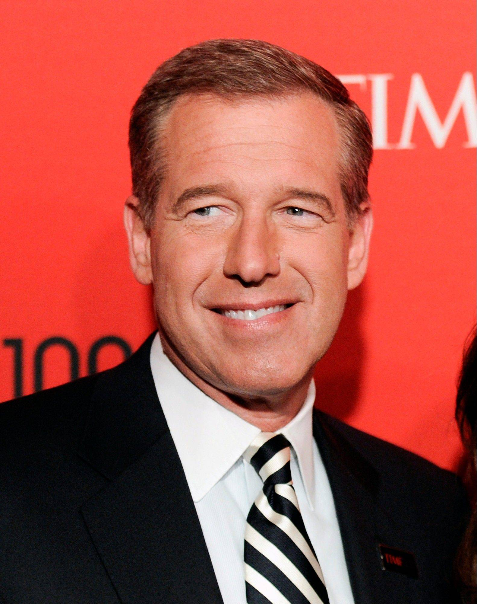 NBC News anchor Brian Williams will be off the air for a few weeks soon for surgery to replace a knee that was damaged in a high-school football game decades ago.
