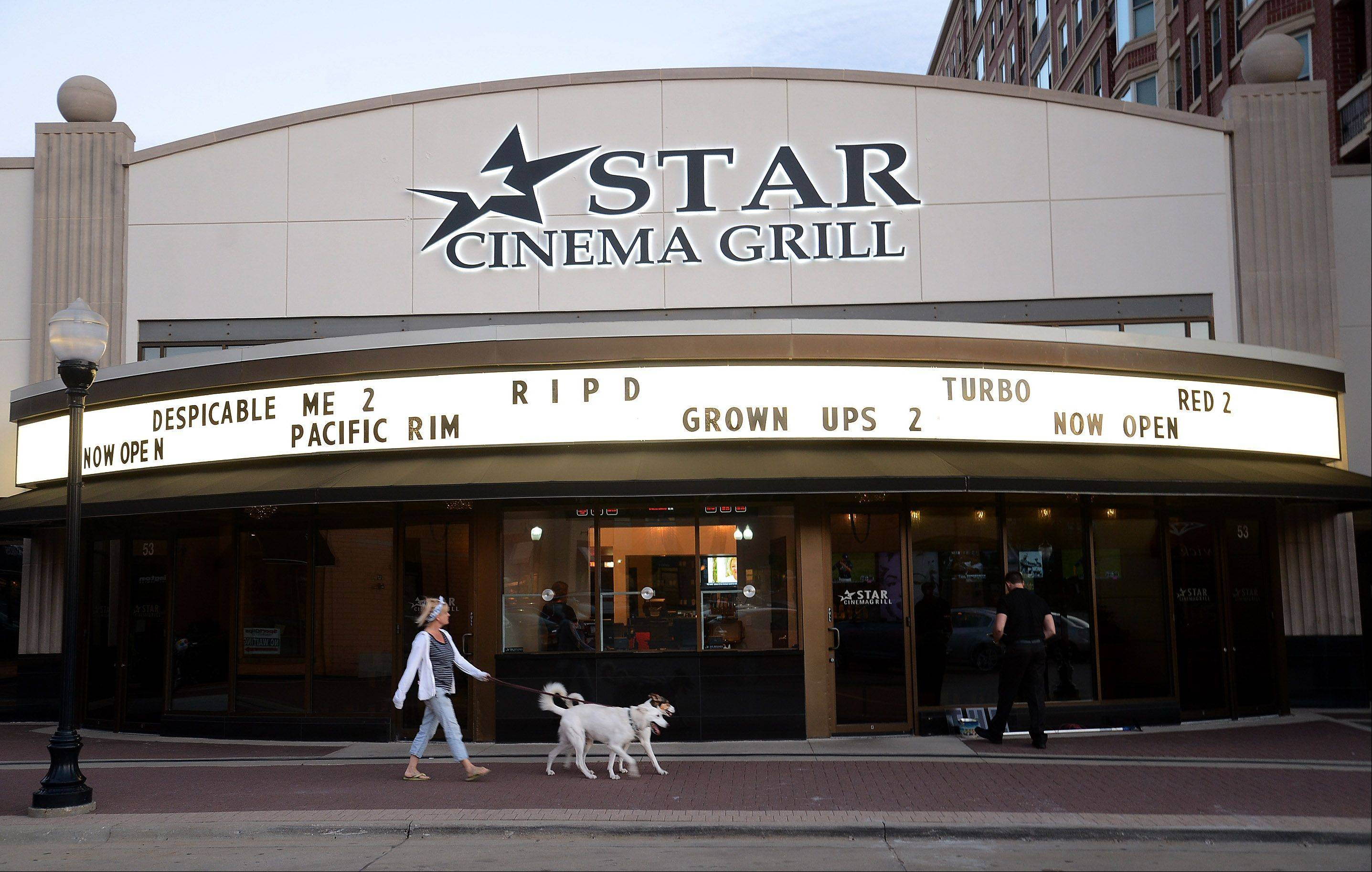 The new Star Cinema Grill opened July 5.