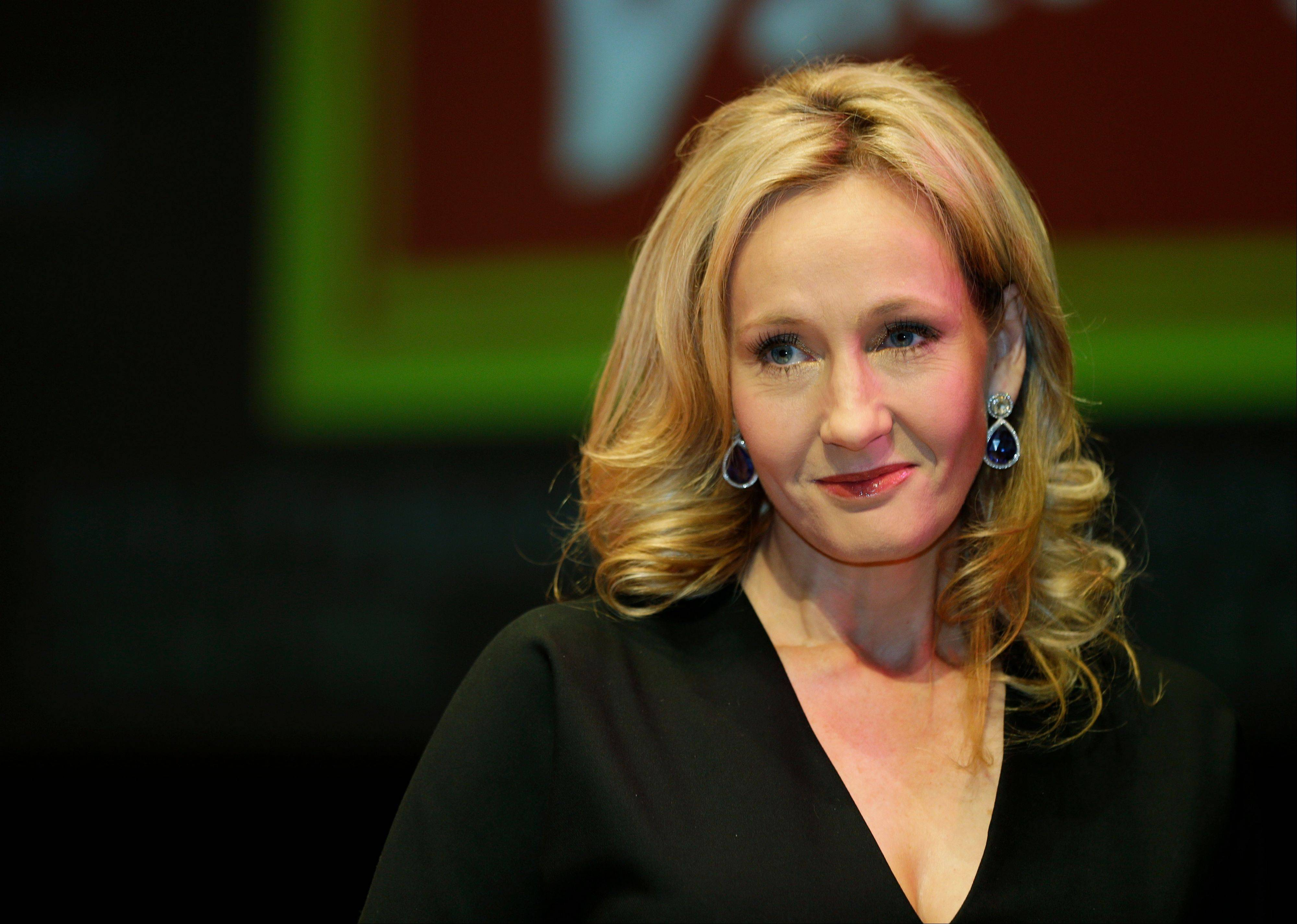 "FILE -- British author J.K. Rowling has confirmed she penned ""The Cuckoo's Calling"" under a pseudonym."