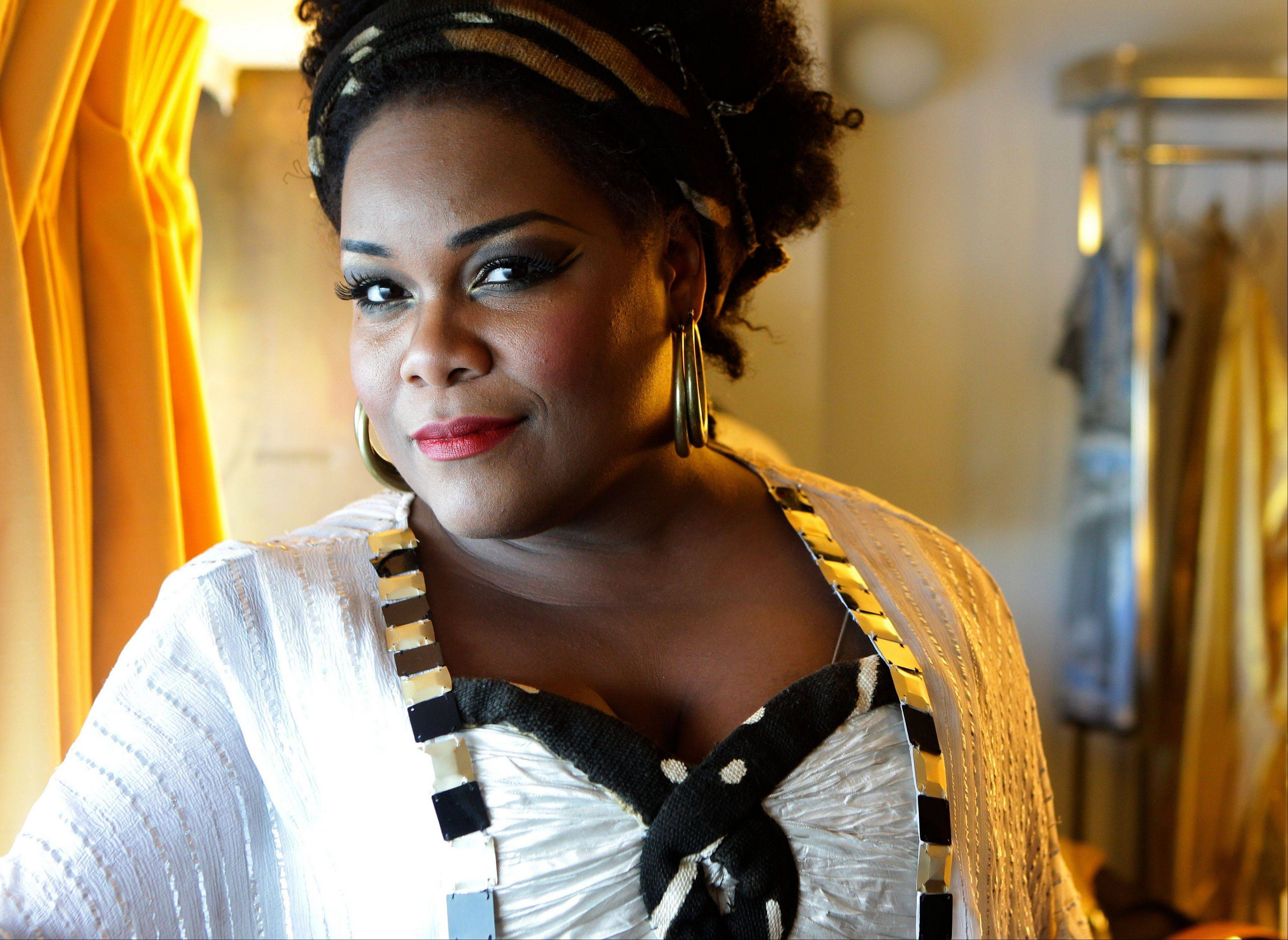 "Soprano Latonia Moore stars in the title role of a special concert of Verdi's grand opera ""Aida"" at the Ravinia Festival in Highland Park on Saturday, Aug. 3."