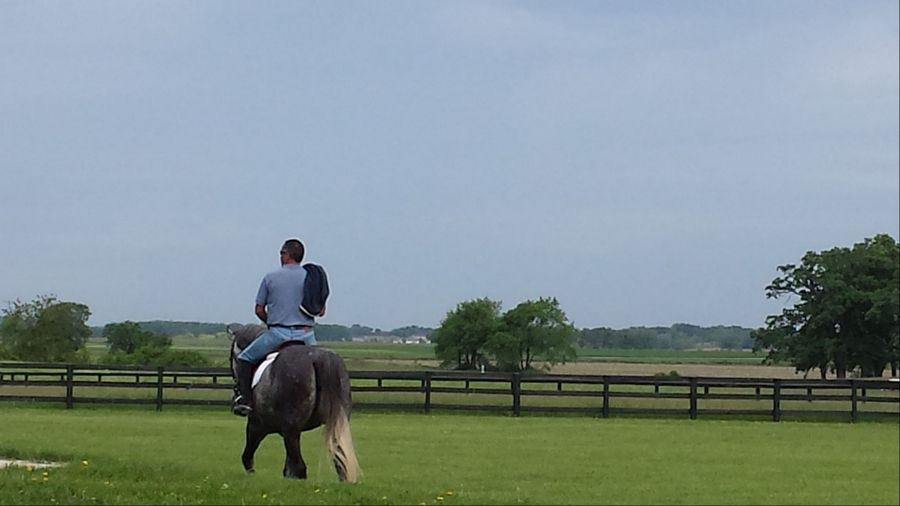 Horseback riding will be one of many activities available to residents of Serosun Farms.