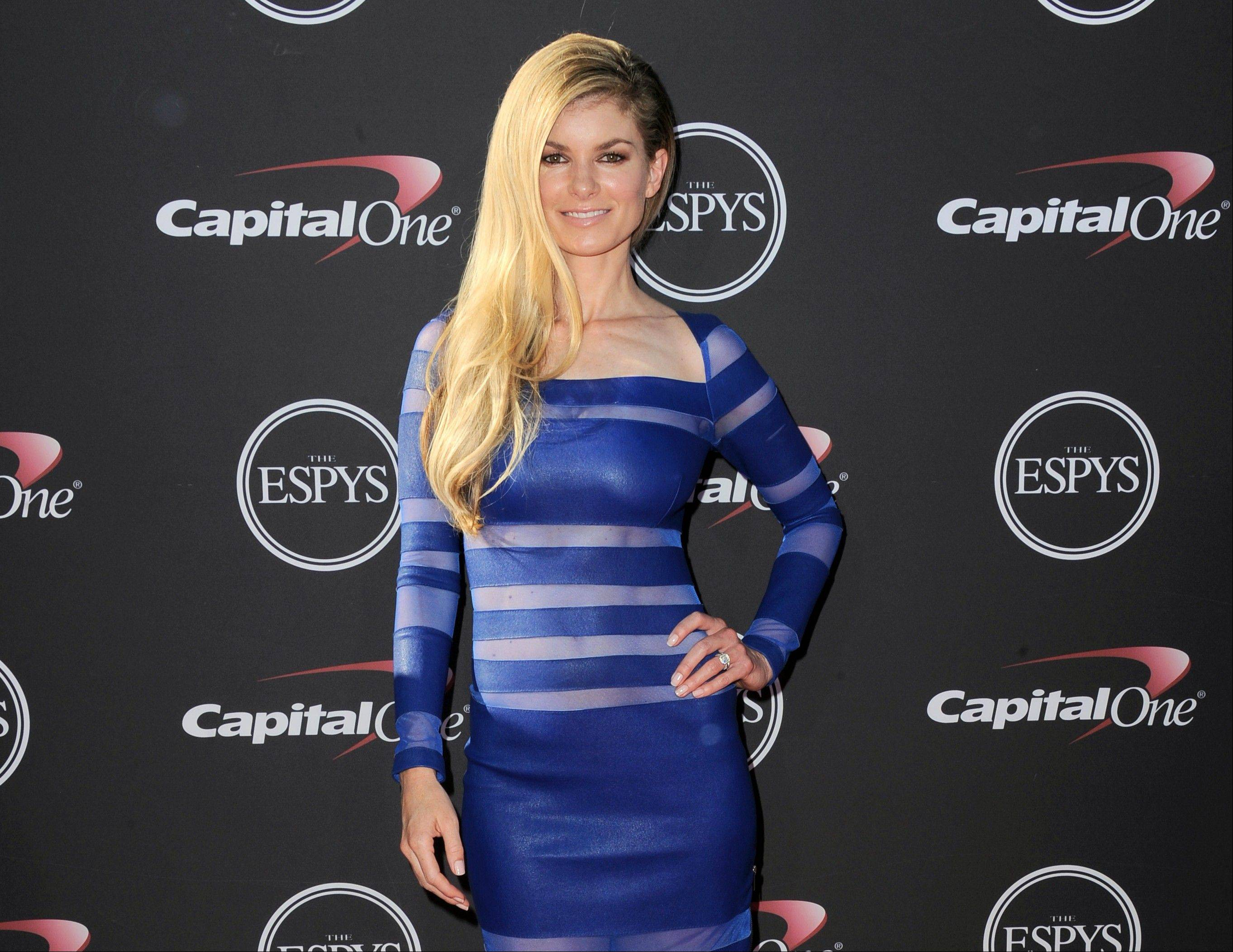 Model-actress Marisa Miller at the ESPY Awards at the Nokia Theatre in Los Angeles. Experts say the sheer look is trending, but it's not a trend for everyone, anytime and everywhere.