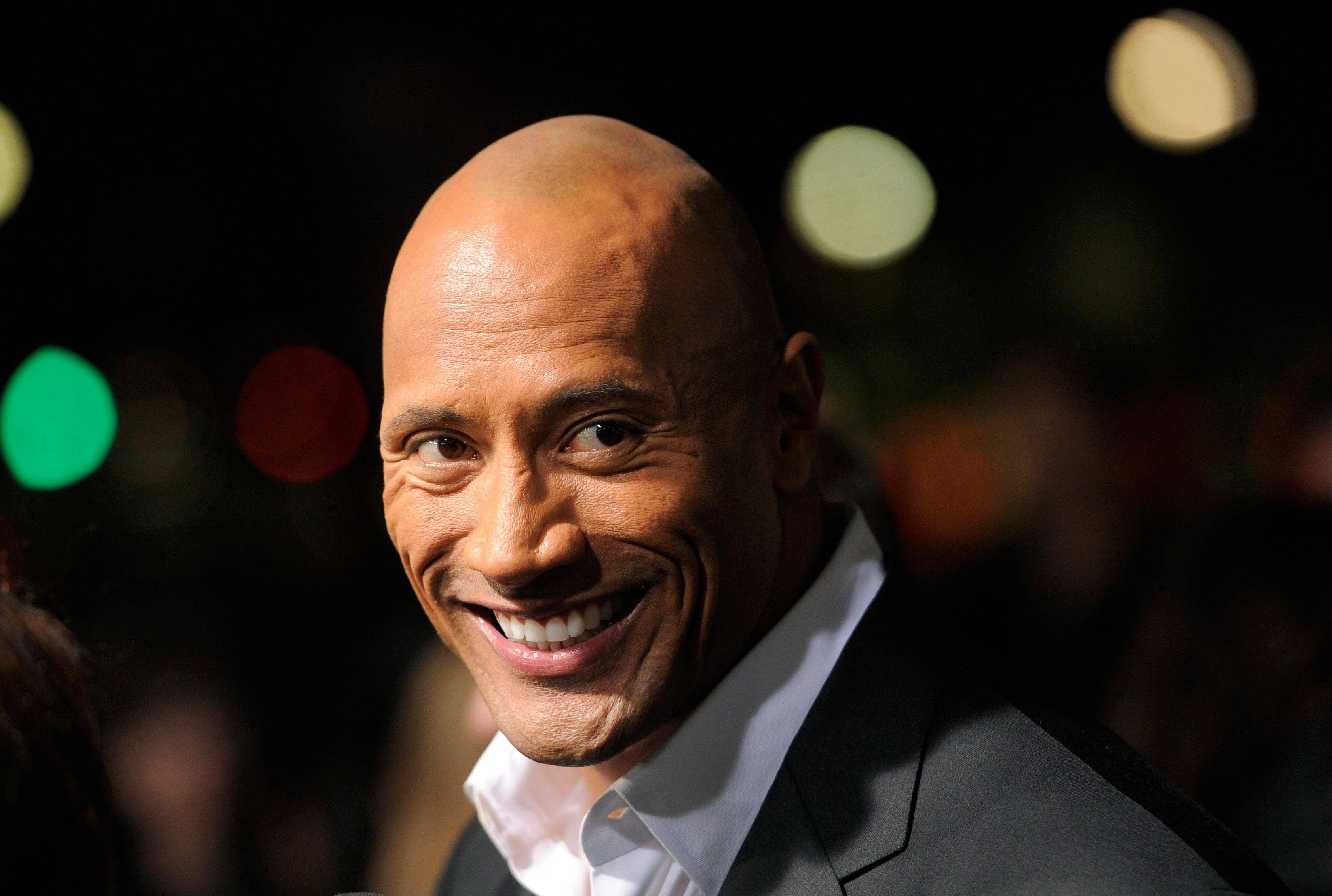 "Dwayne Johnson, a cast member in ""G.I. Joe: Retaliation,"" also hosts ""The Hero,"" competition series on TNT. The season finale airs Thursday, Aug. 1."