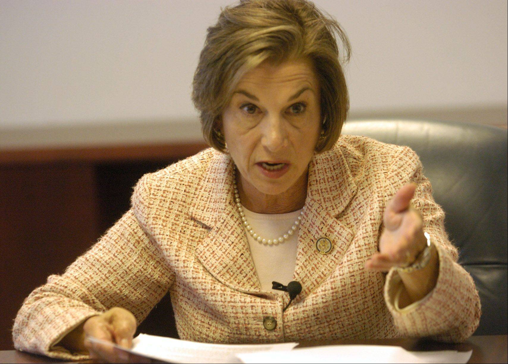 U.S. Rep. Jan Schakowsky of Evanston has taken 23 privately funded trips in the past six years.