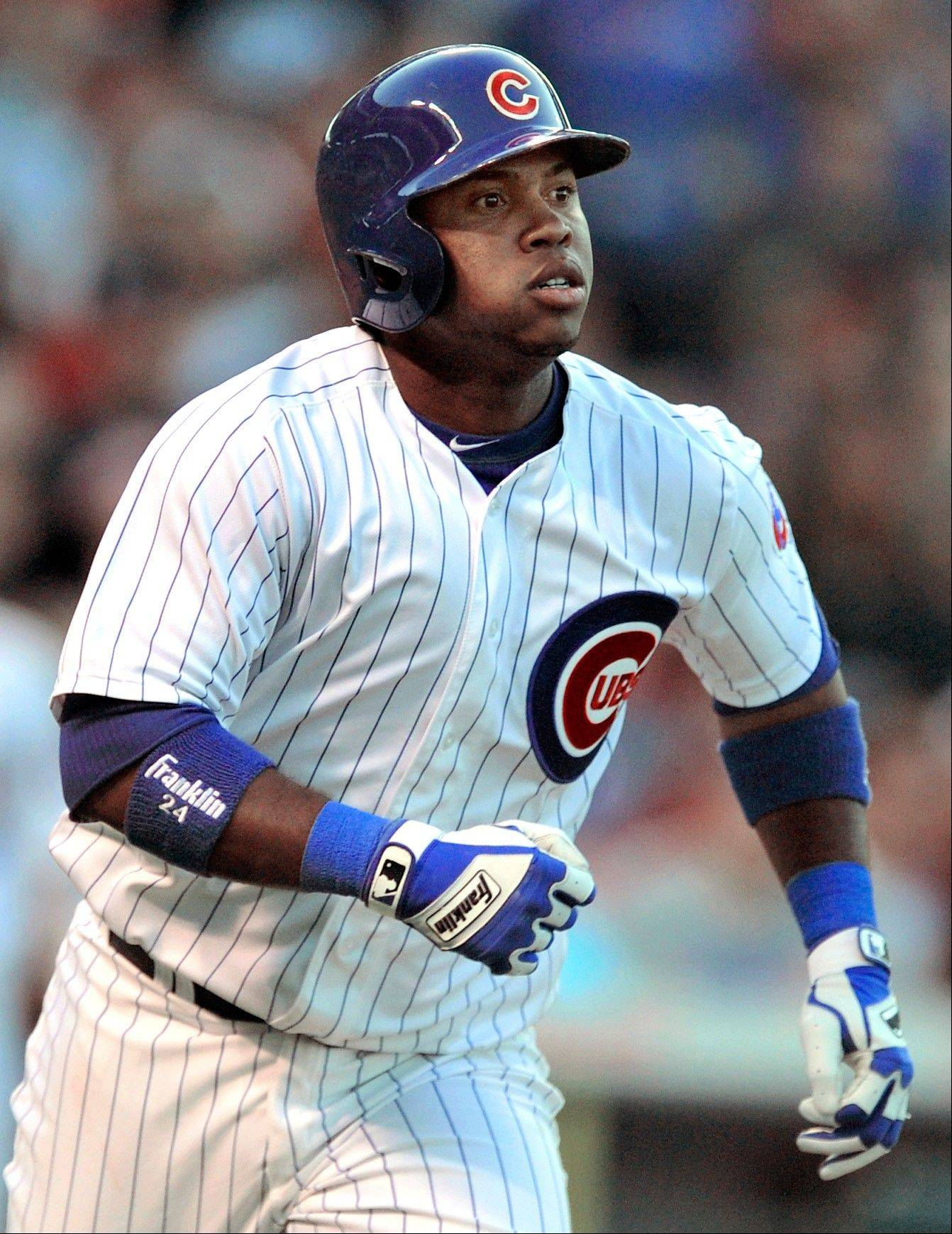 The Cubs� Luis Valbuena is on the DL with a strained muscle.