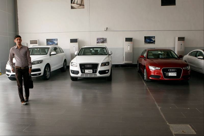 Iraqs Worsening Security Woes Hit Local Economy - Audi car dealers
