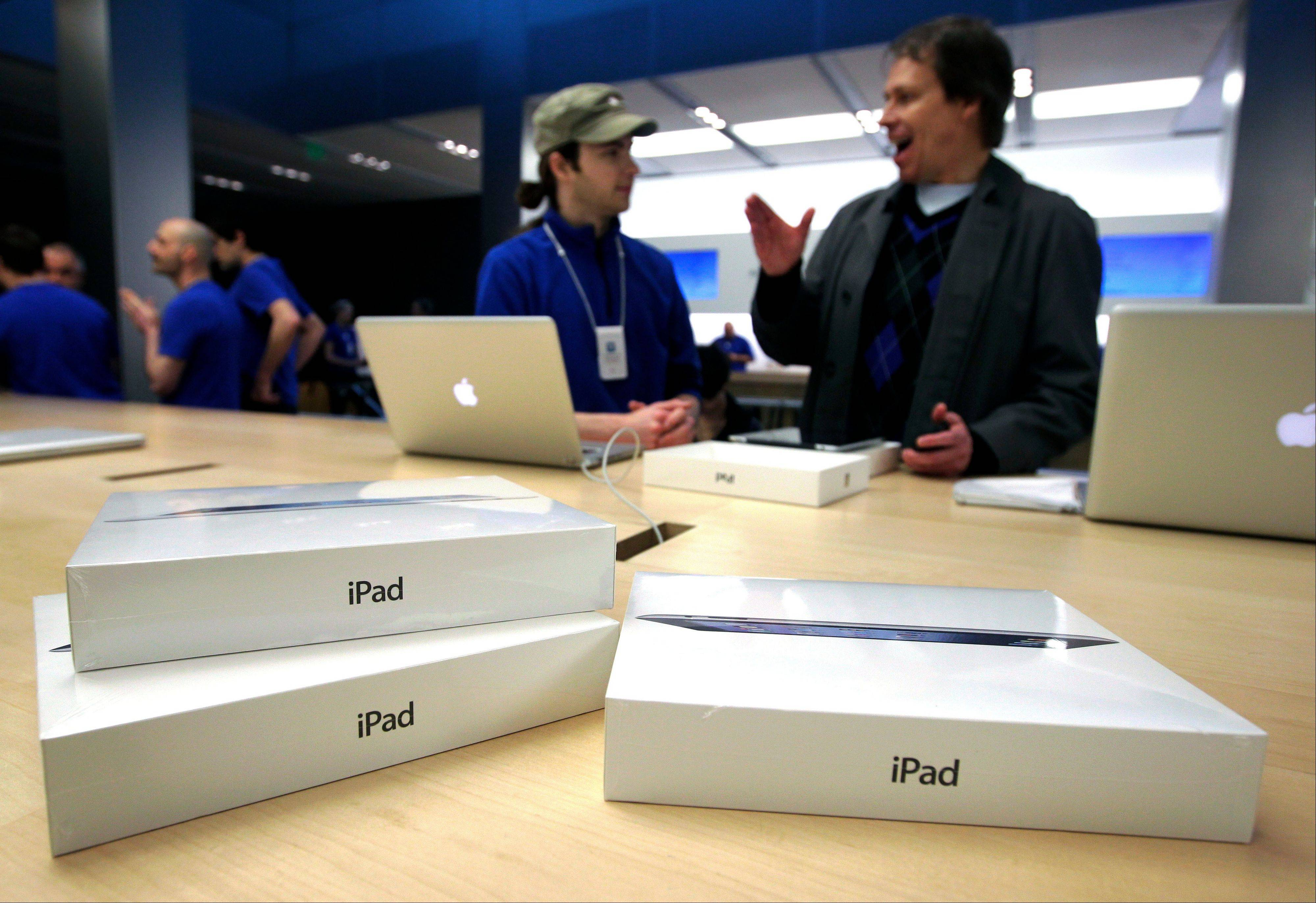 Worldwide shipments of tablet computers slowed down in the second quarter because Apple didn�t release a new model of its trend-setting iPad, research firm IDC said Monday, Aug. 5, 2013. Shipments totaled 45.1 million units in the April-June period of 2013, down nearly 10 percent from the first three months of the year.