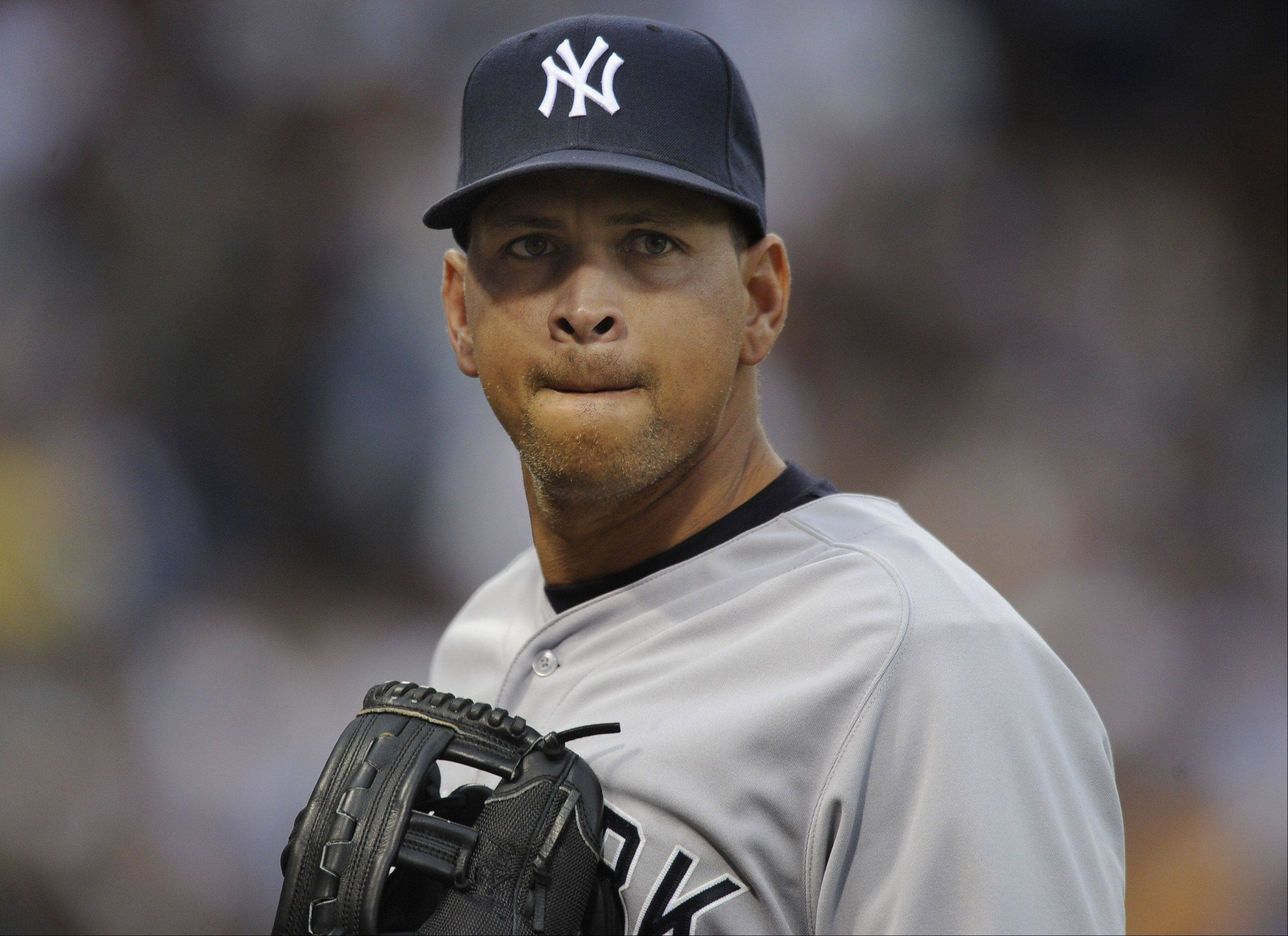 Images: A-Rod and the Yanks play the Sox