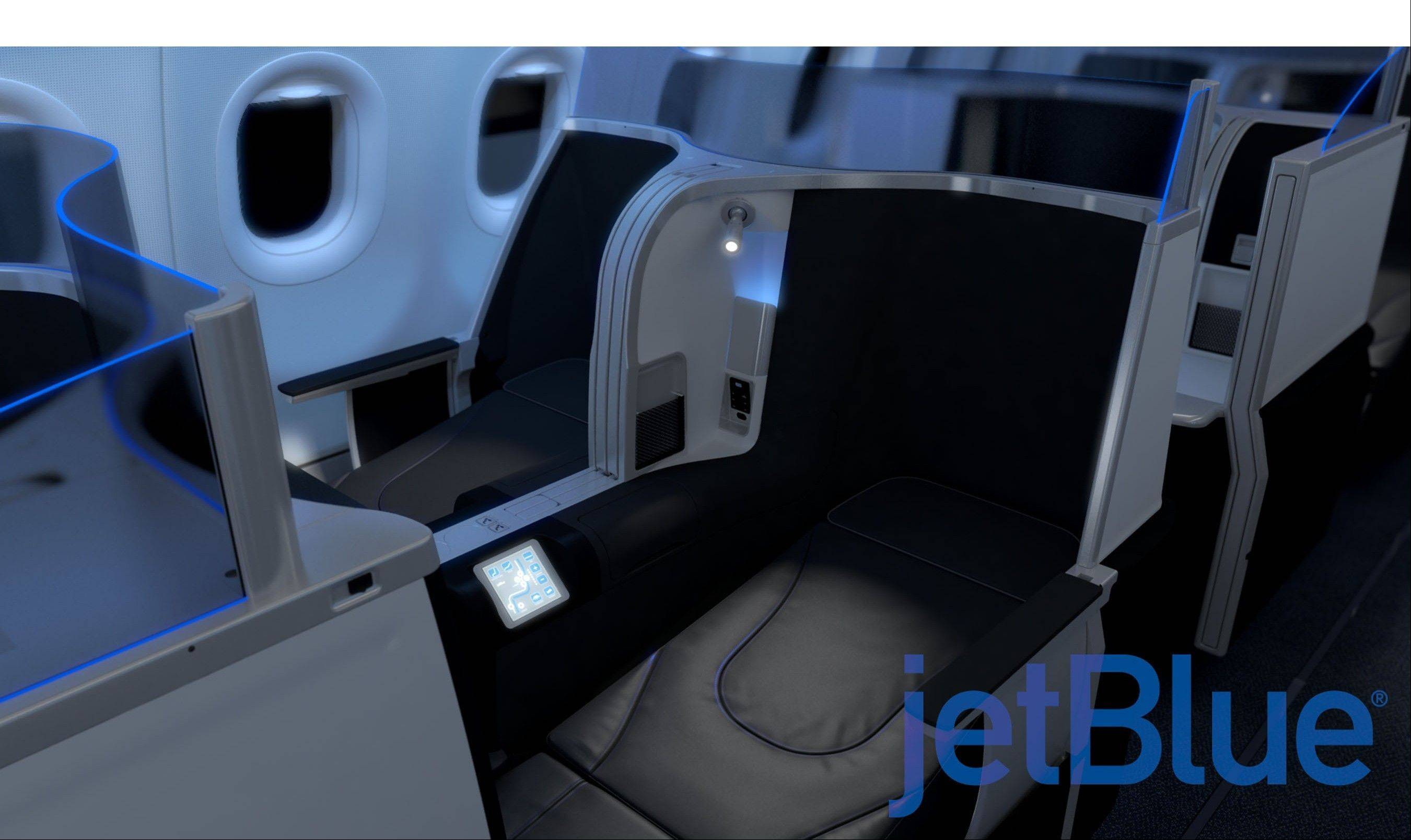 JetBlue Airways reinvents transcontinental premium travel with a new lie-flat seat.