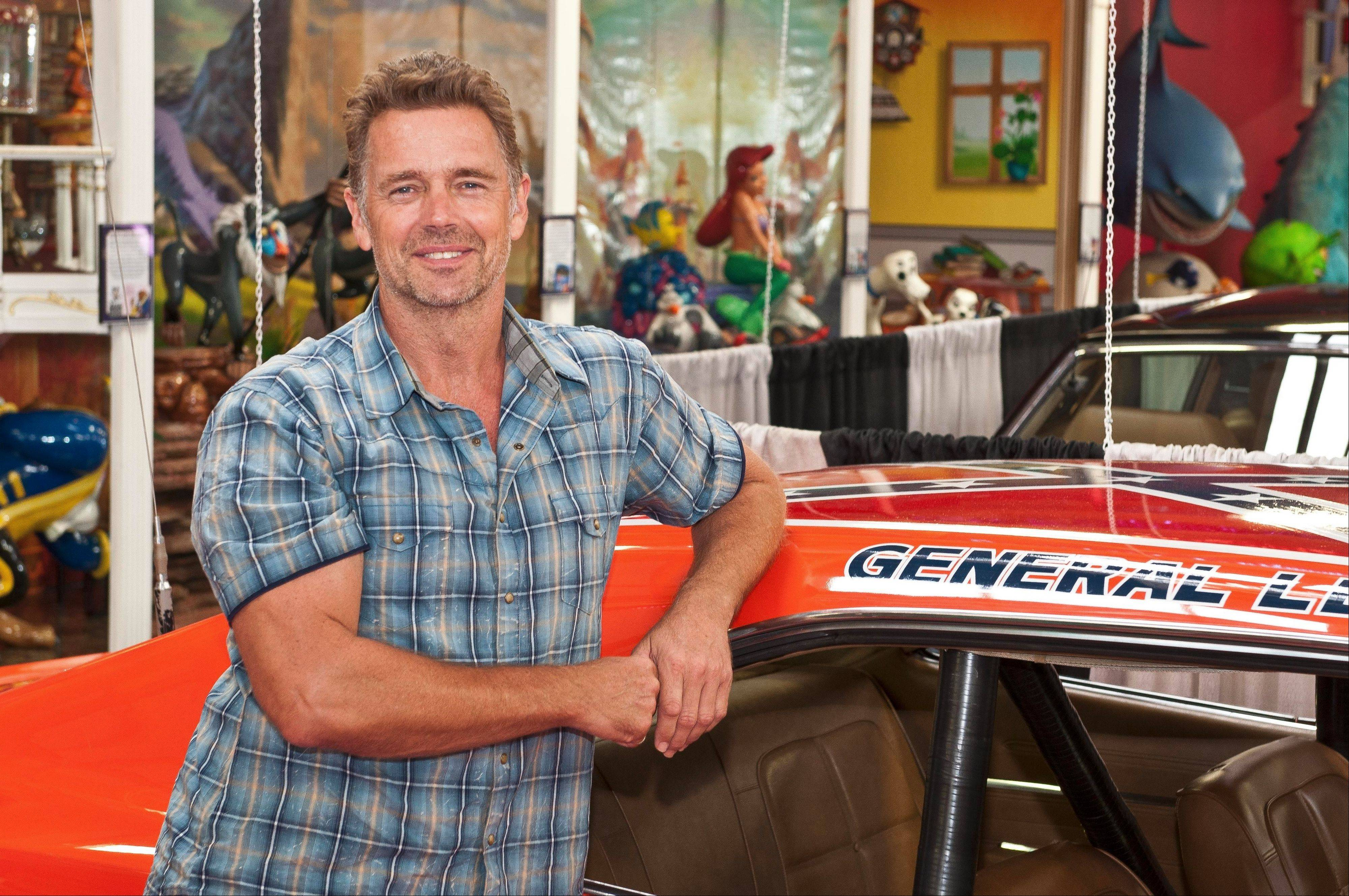 "Actor John Schneider, who played Bo Duke in the ""Dukes of Hazzard"" TV series, recently appeared at the Volo Auto Museum to meet fans."