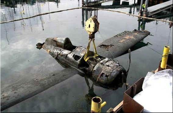 Restoration set for WWII plane found off Waukegan