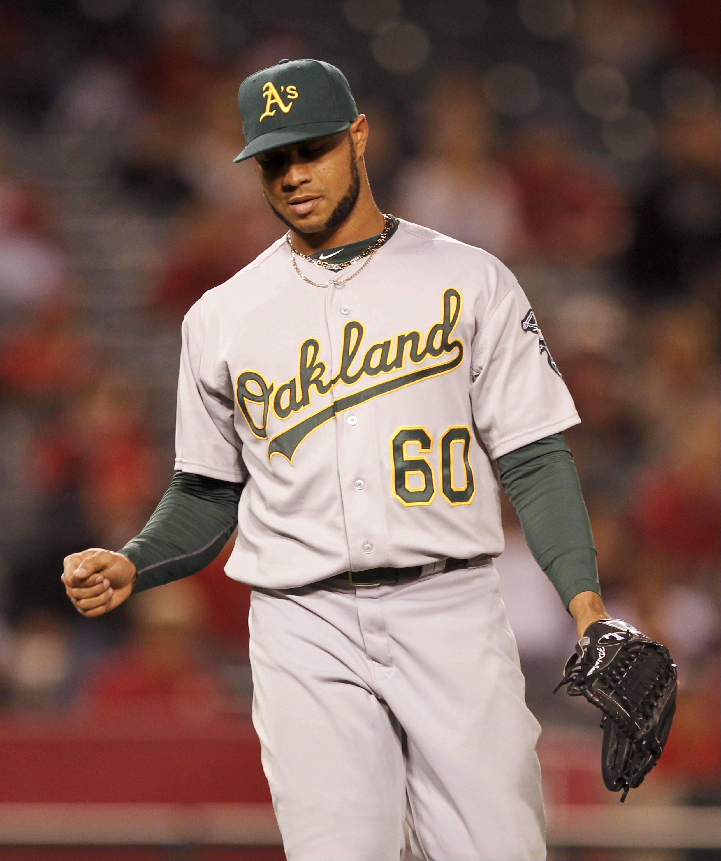 Former Oakland Athletics relief pitcher Fautino De Los Santos was claimed off waivers by San Diego on Feb. 6. The 27-year-old was optioned to Triple-A Tucson (PCL), he went 0-1 with a 3.86 ERA in two relief appearances before he was released on May 15.