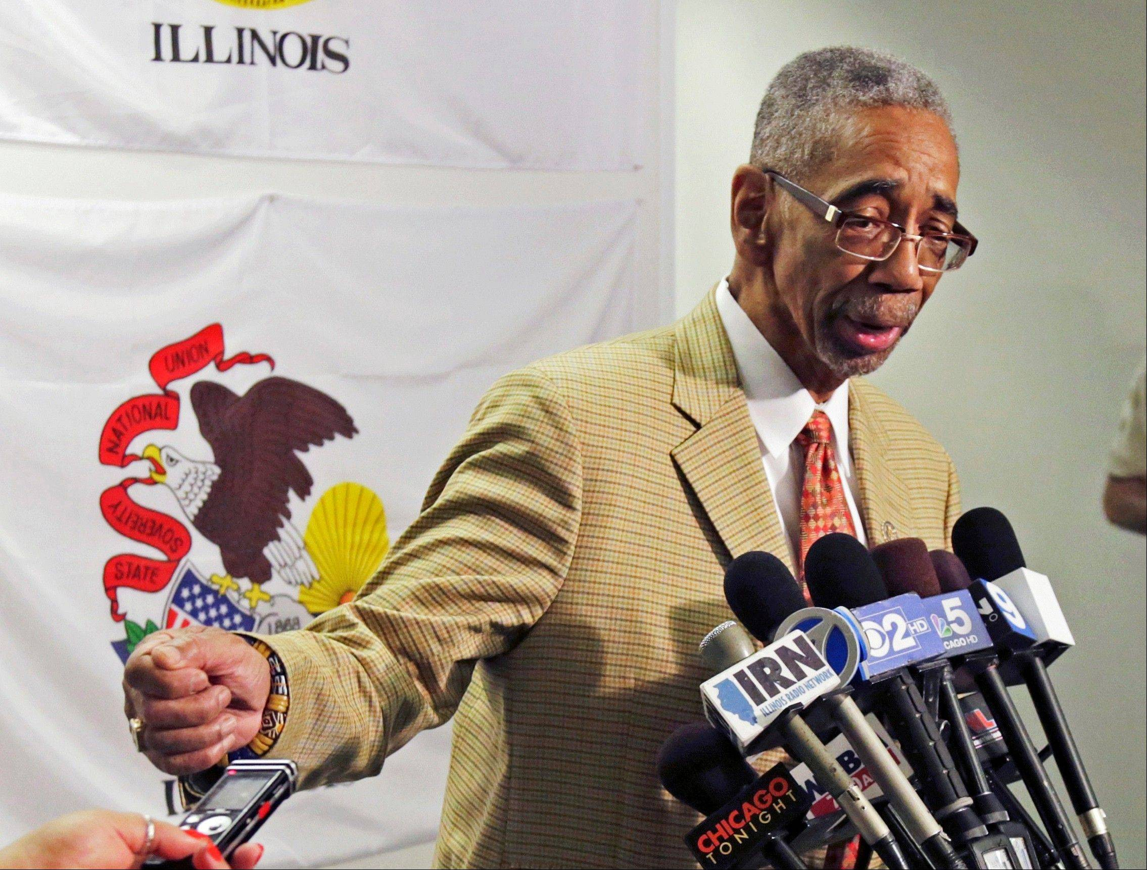 Congressman Bobby Rush denies that he pressured Alex Clifford, the former CEO of the Metra commuter rail agency, to award a contract to a nonprofit organization as part of a massive Chicago construction project.