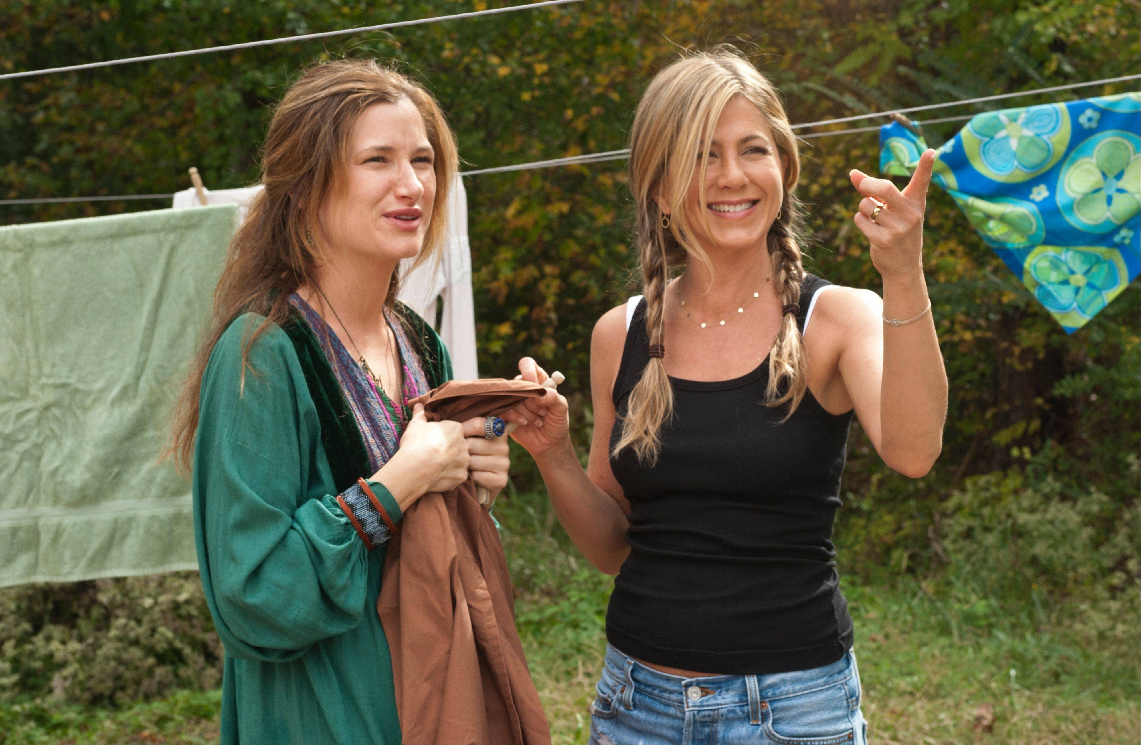 "In the comedy ""Wanderlust,"" Westchester native Kathryn Hahn first worked with co-star Jennifer Aniston. They reteam for the comedy ""We're the Millers,"" opening this week."