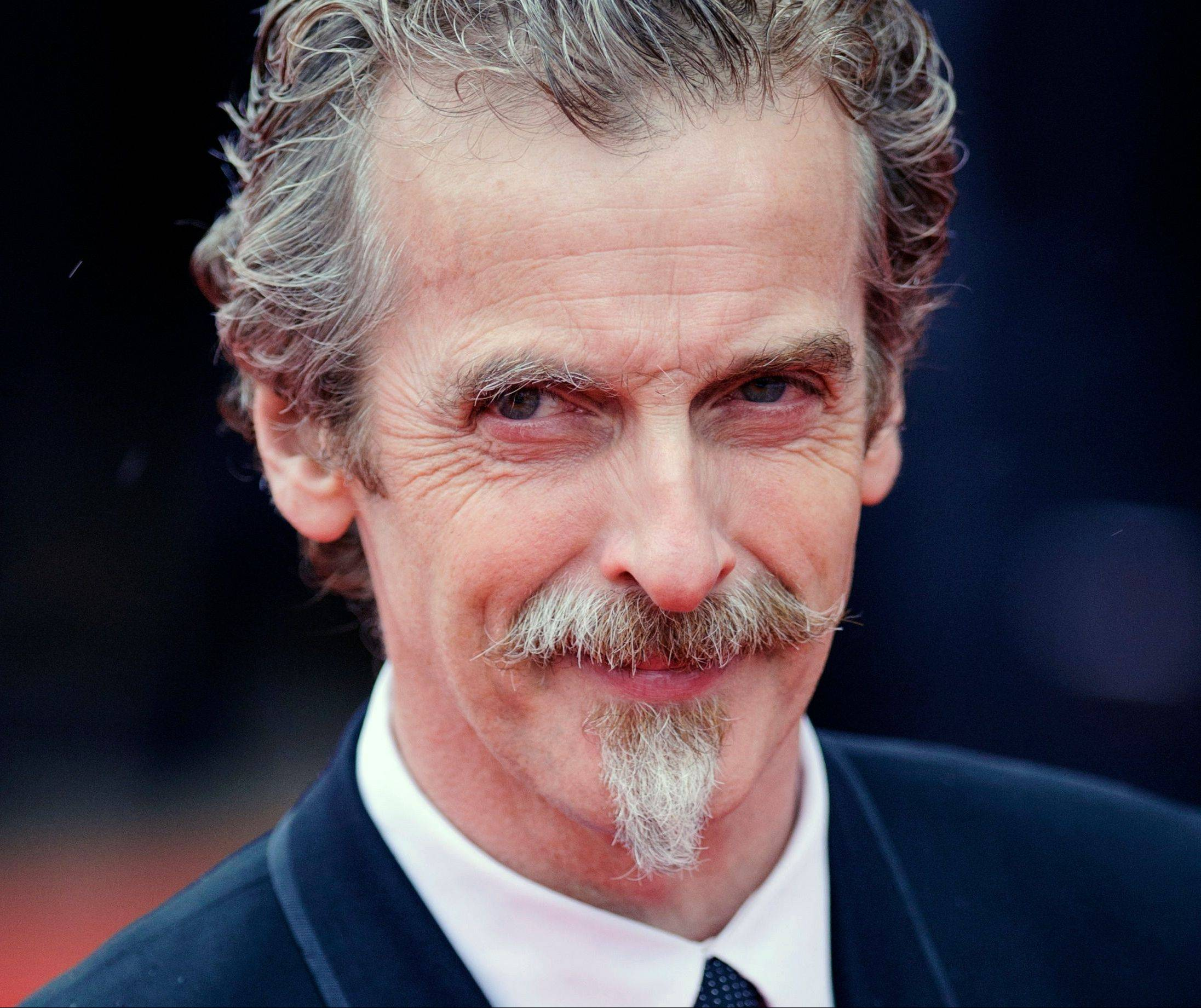 "Peter Capaldi will take over as star of ""Doctor Who"" in December."
