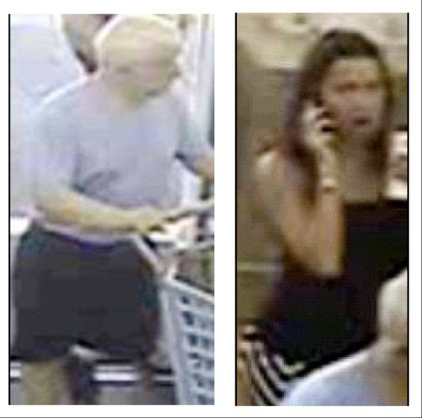 Naperville police released surveillance images of a man and woman accused of stealing a $900 baby stroller from Buy Buy Baby on Route 59. A reward of up to $1,000 is being offered for information leading to an arrest.