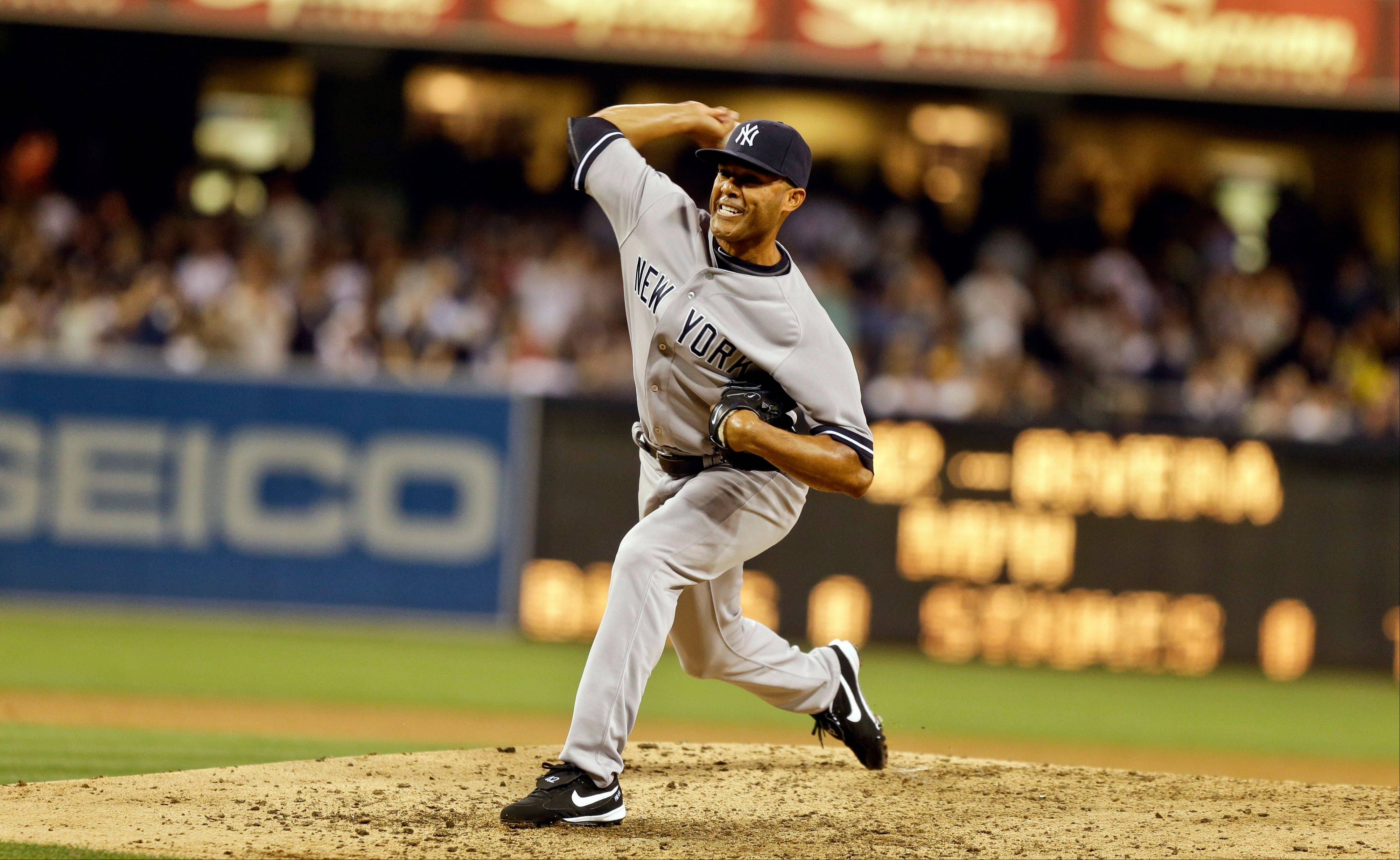 New York Yankees closer Mariano Rivera is making his final visit to U.S. Cellular Field. He has not pitched in the first two games against the White Sox.
