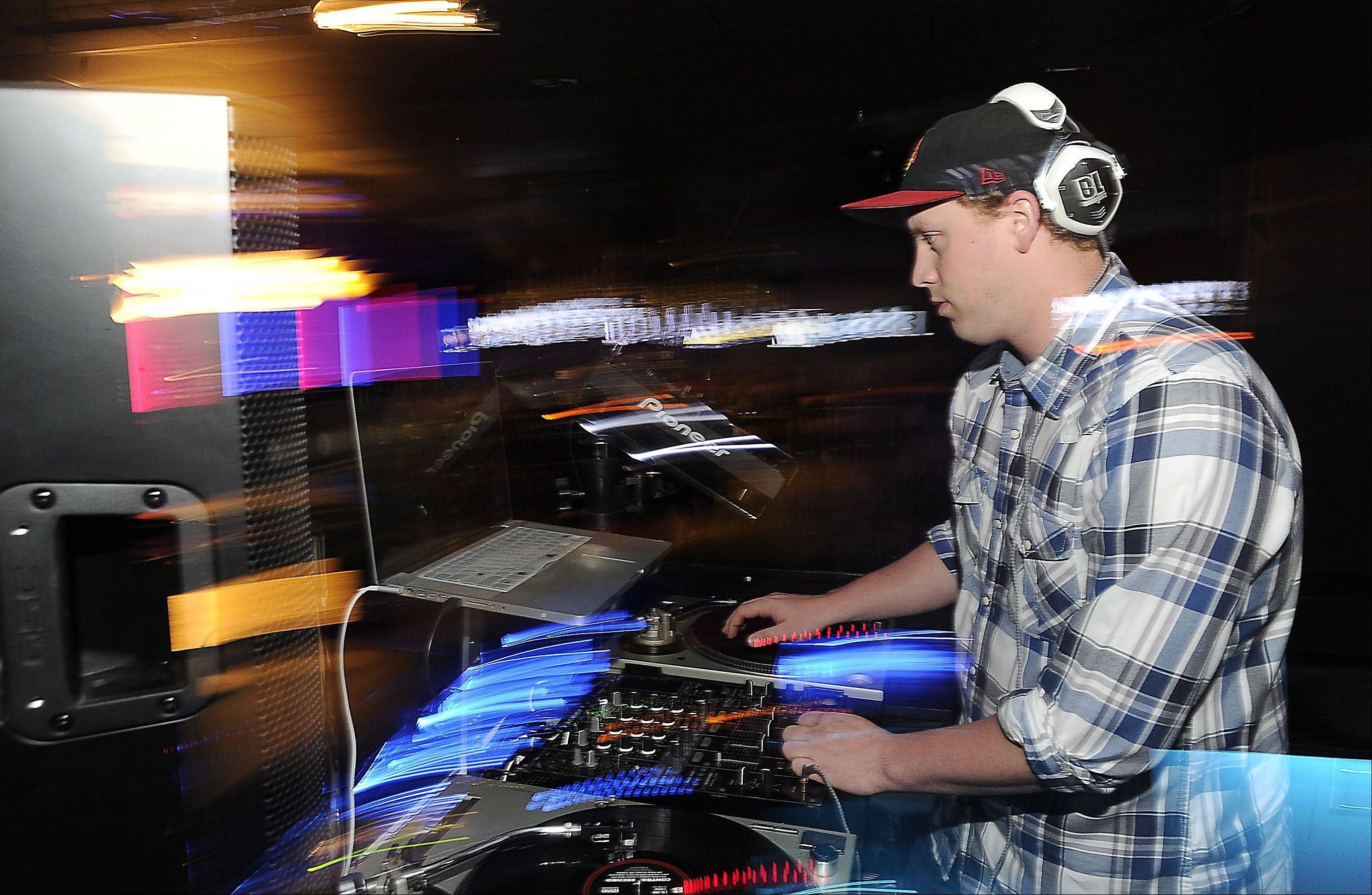 DJ Bobby Lite entertains the crowd at the House of Music & Entertainment.
