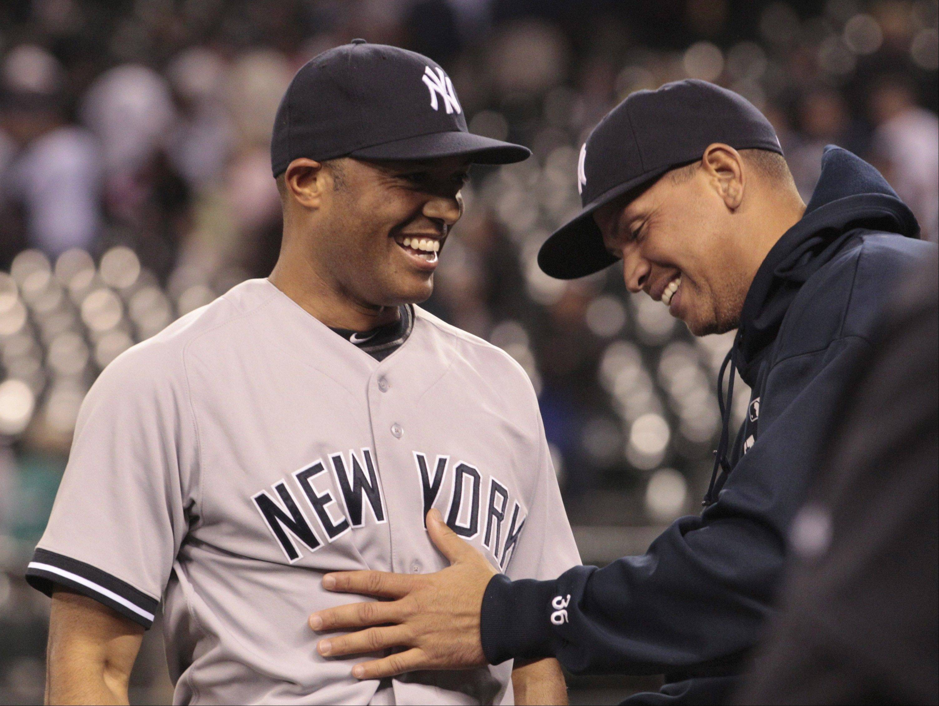 Yankees Mariano Rivera, left, and Alex Rodriguez provide such contrasts.