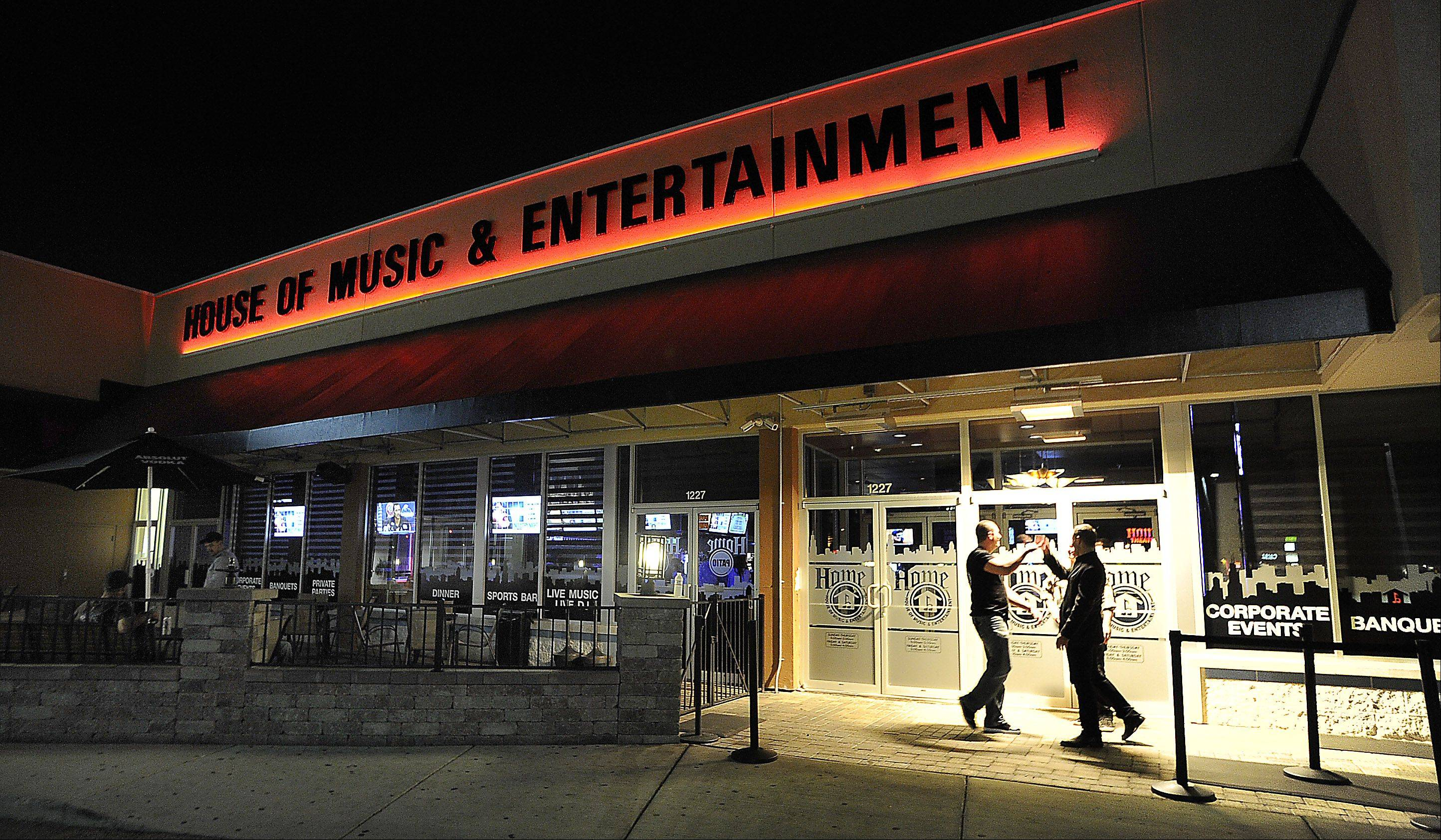 H.O.M.E. -- the House of Music & Entertainment -- opened in November along Rand Road in Prospect Heights.