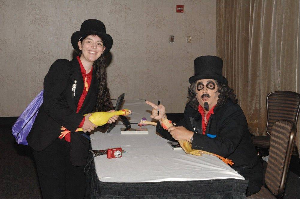 Svengoolie (Rich Koz) will return to this year's Flashback Weekend in Rosemont.
