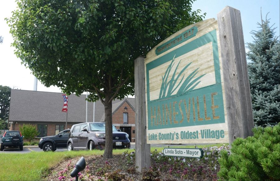 Hainesville's reserve fund has enough money in it that the village could forgo levying property taxes for at least three years and still have money left in the fund.