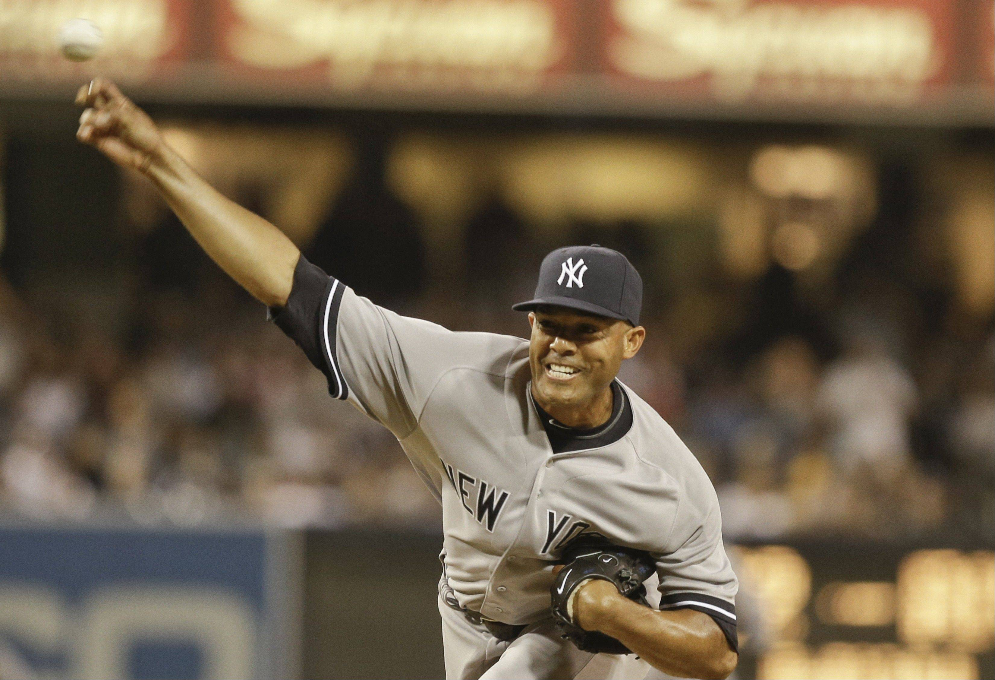 When it comes to a sports figure to look up to, New York Yankees closer Mariano Rivera is a good choice.