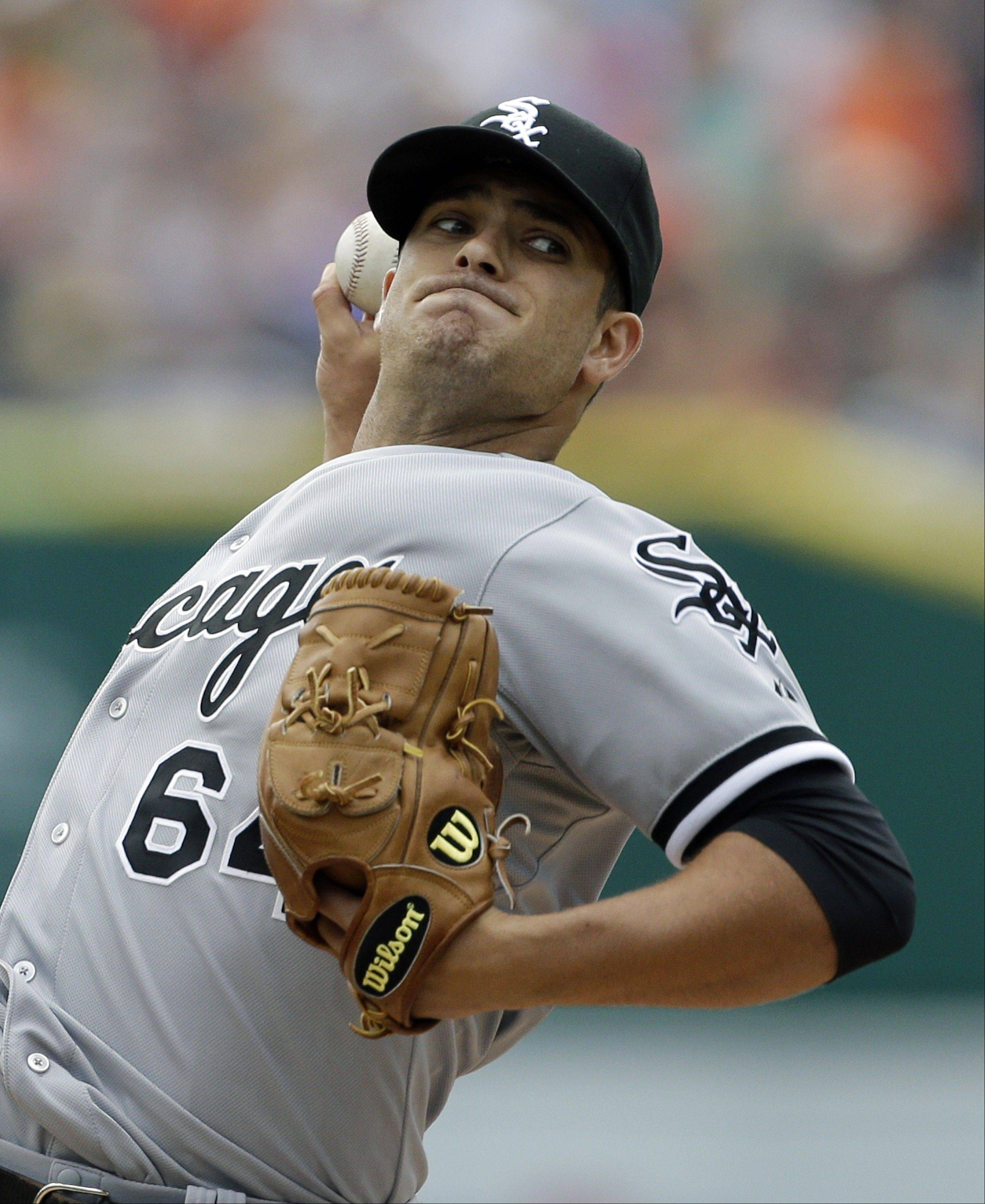 In 2 starts so far for the White Sox, pitcher Andre Rienzo has a 1.38 ERA.