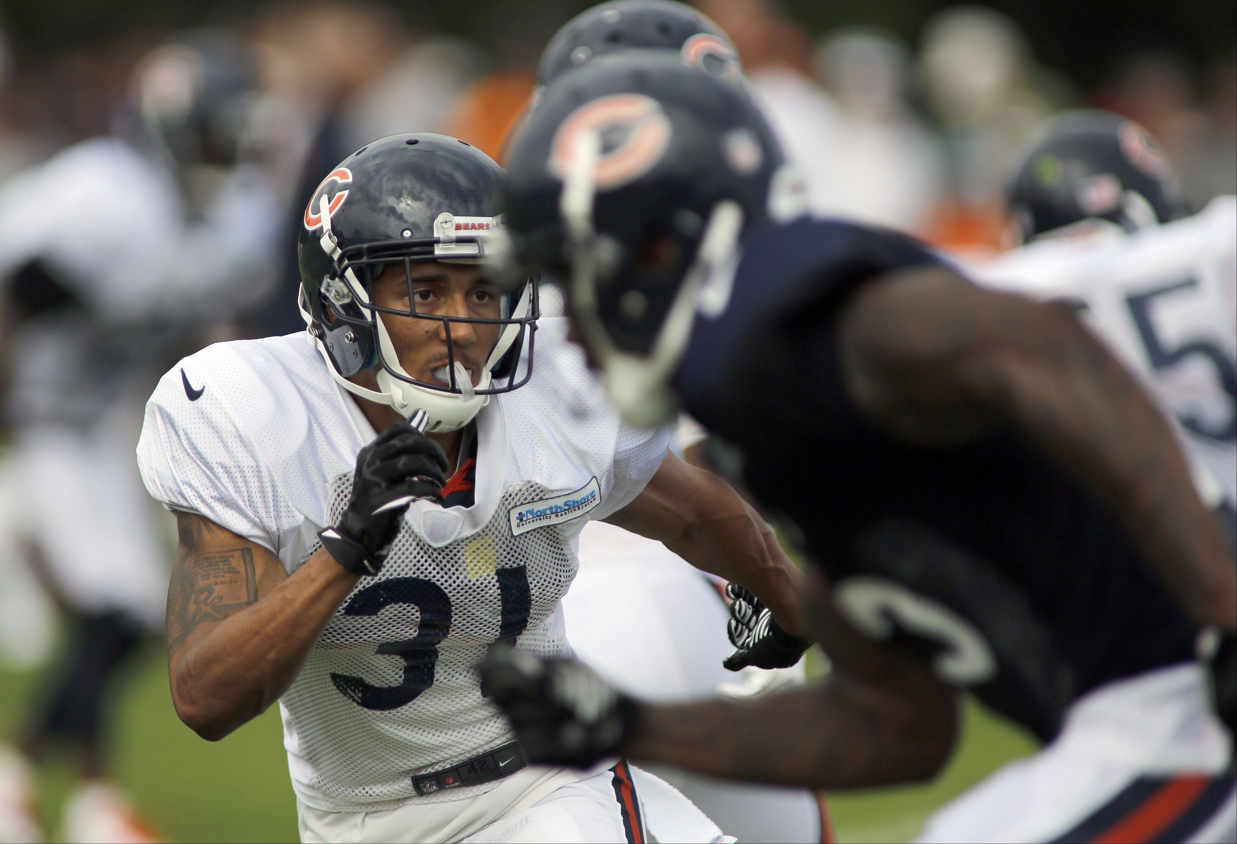 Bears cornerback Isaiah Frey will get the opportunity to replace Kelvin Hayden.