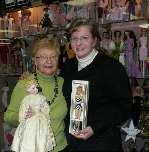 Gigi and Sherry will provide expert appraisal and doll repair advice on August 21 at the Arlington Heights Historical Museum.