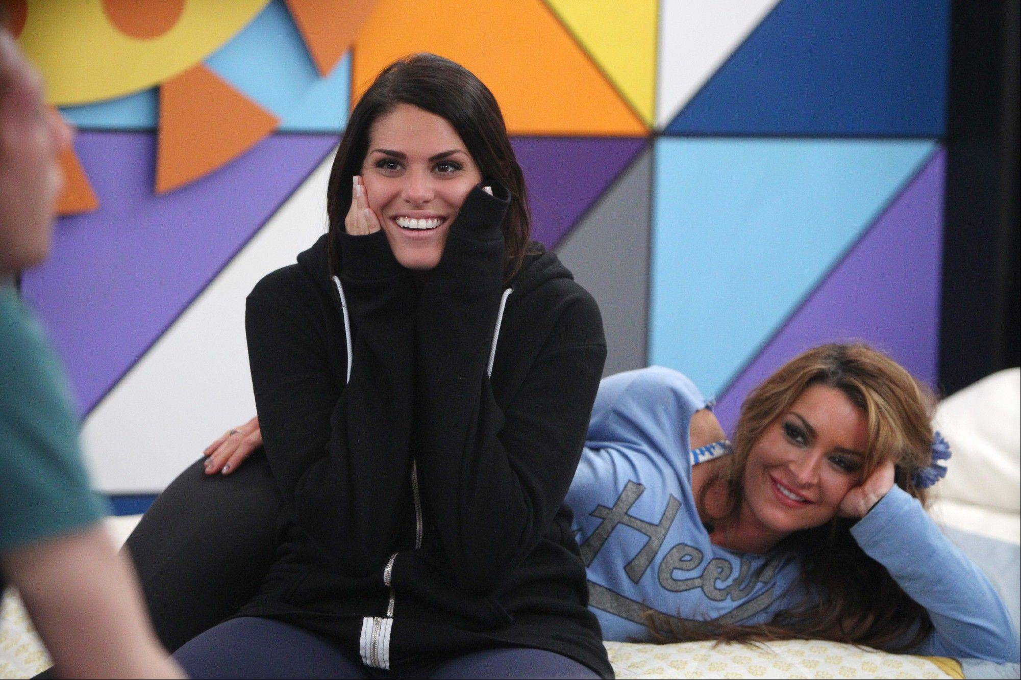 "Houseguest Amanda Zuckerman, left, the 28-year-old real estate agent from Boynton Beach, Fla., on ""Big Brother."" A run of ethnically insensitive remarks has continued on filming for ""Big Brother,"" raising questions about whether CBS should be doing more to police its reality show."