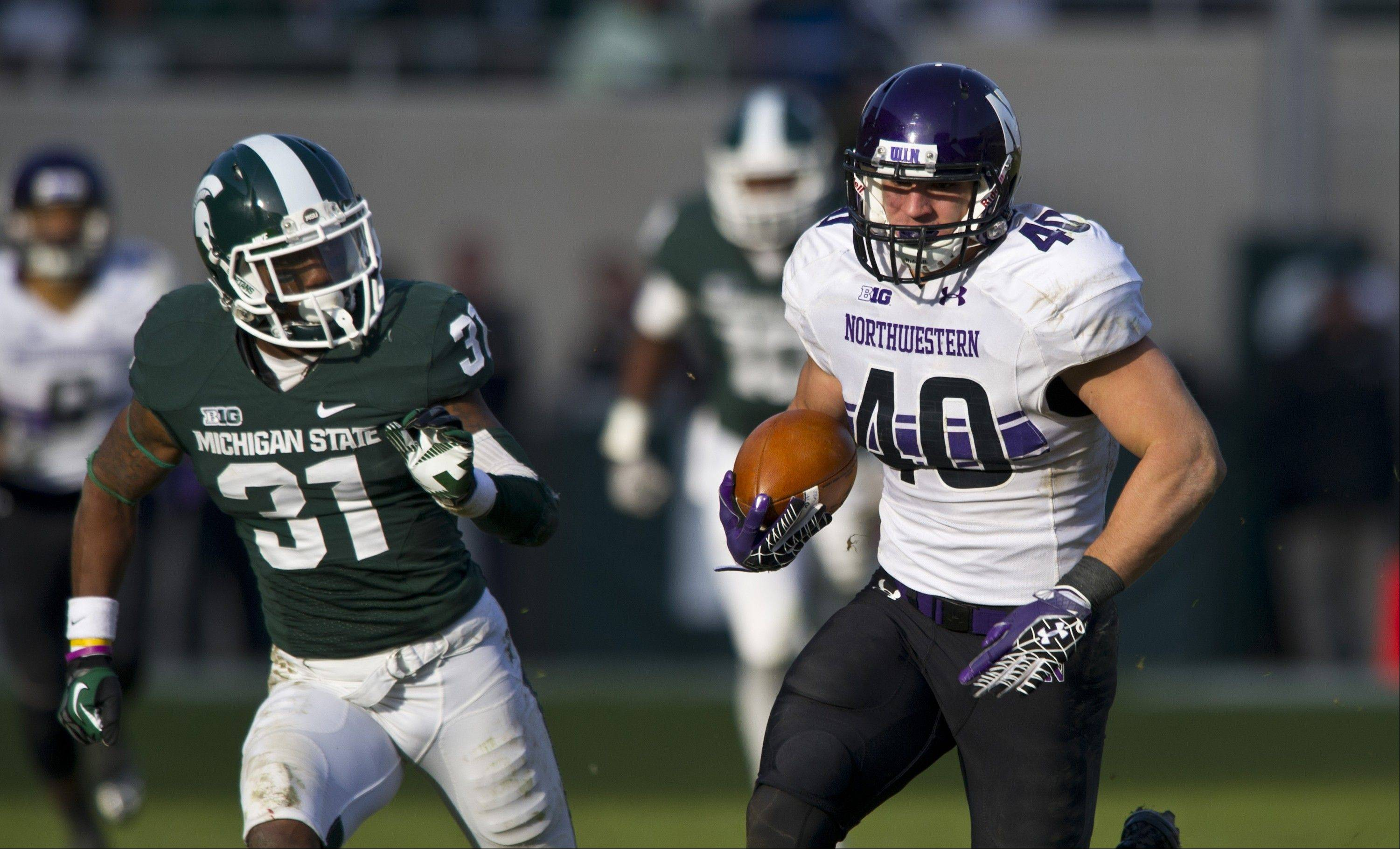 NU's Vitale big on winning
