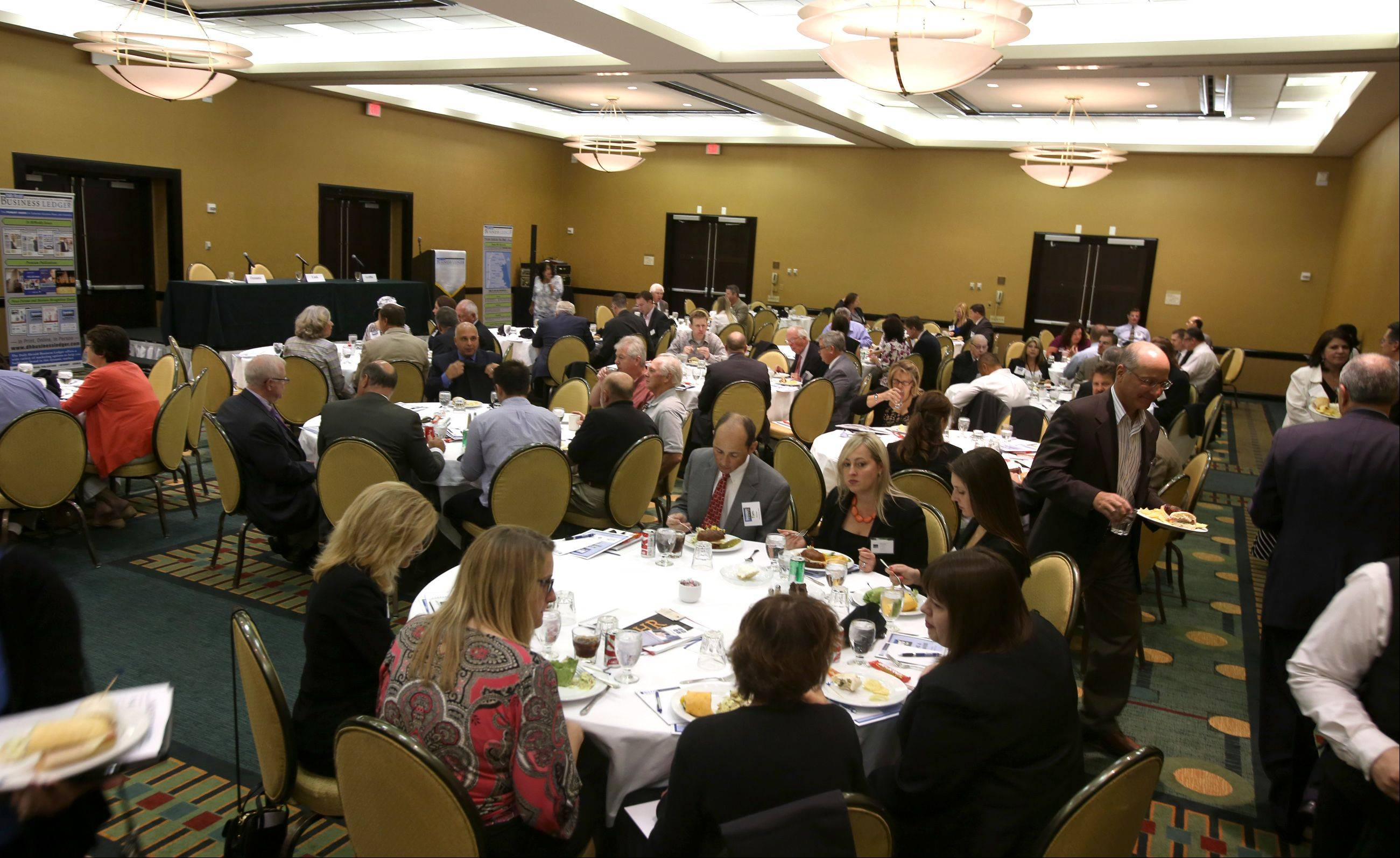 The Newsmaker's Forum focused on Managing a Family Business Thursday. It was held at the Doubletree by Hilton Hotel in Downers Grove.