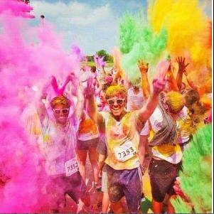 Clearbrook is using this photo to promote the first Color Blast 5K Run/Walk to take place in Arlington Heights. It will be downtown at 10 a.m. on Saturday.