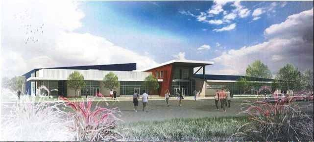 Officials will break ground Saturday on a proposed $15.5 million, 67,000-square-foot recreation center in Reed-Keppler Park in West Chicago.