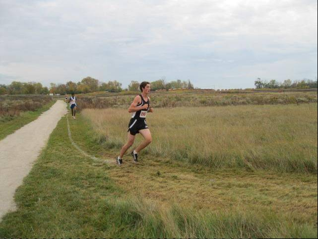 Ben Brissette, 18, of Des Plaines runs cross country for Maine West High School.