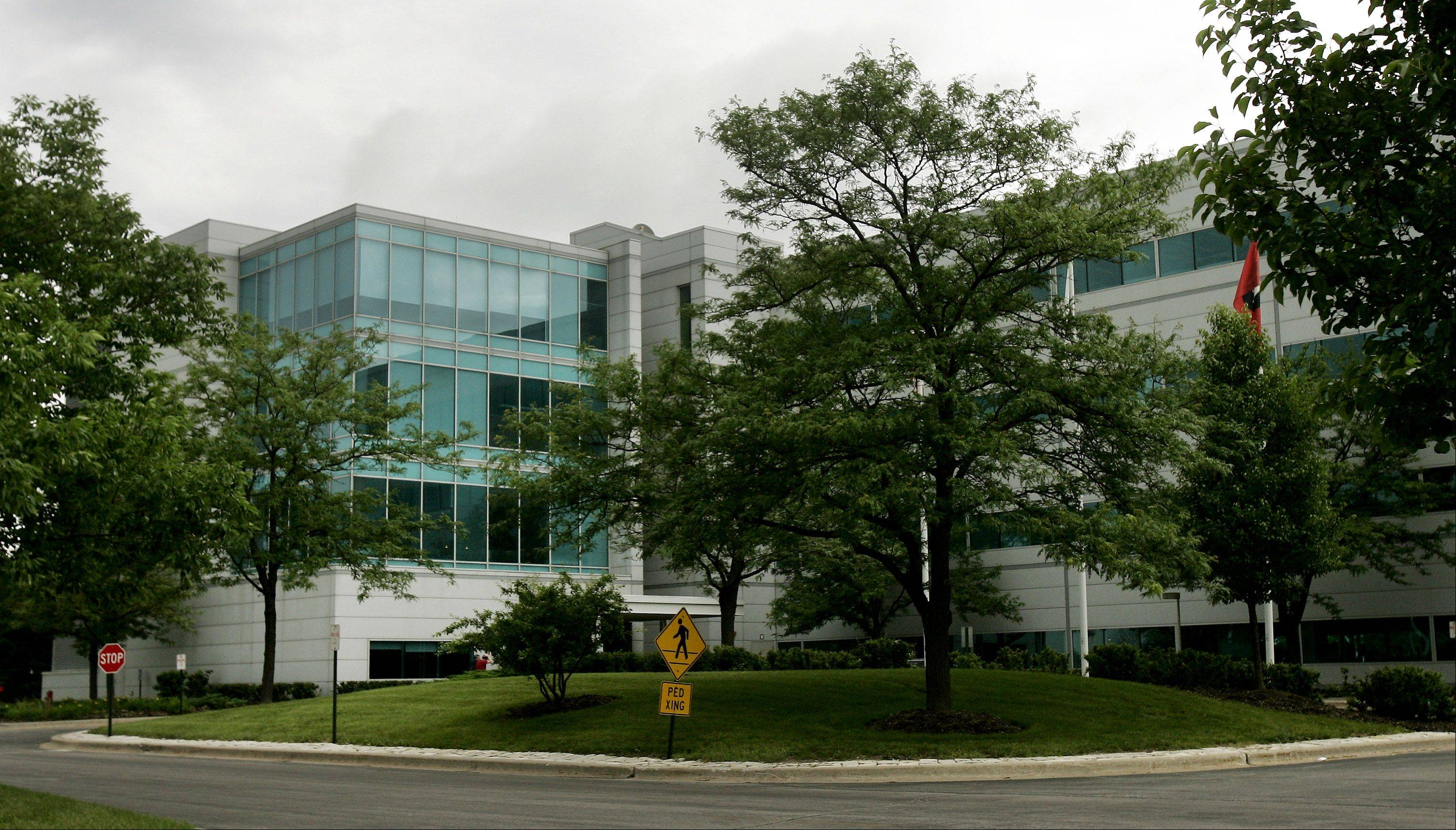 The Motorola Mobility campus in Libertyville is on the market after the company's recent move to the Merchandise Mart in Chicago.