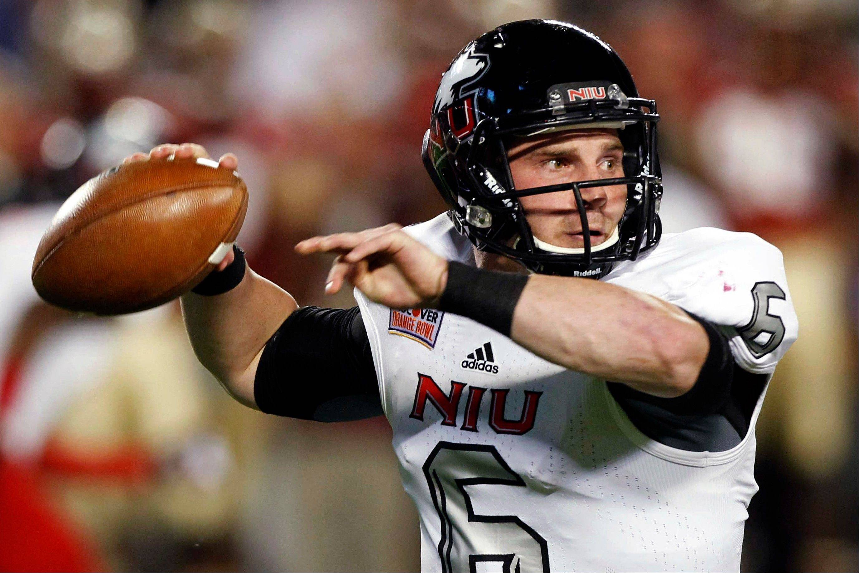 Northern Illinois University quarterback Jordan Lynch has been named to the Johnny Unitas Golden Arm Award Watch List.