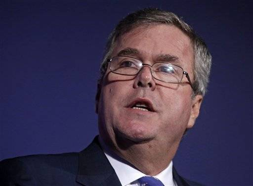 Former Florida Gov. Jeb Bush defended new uniform achievement standards for students around the nation Friday while calling for states to expand school-choice initiatives through more online classrooms.