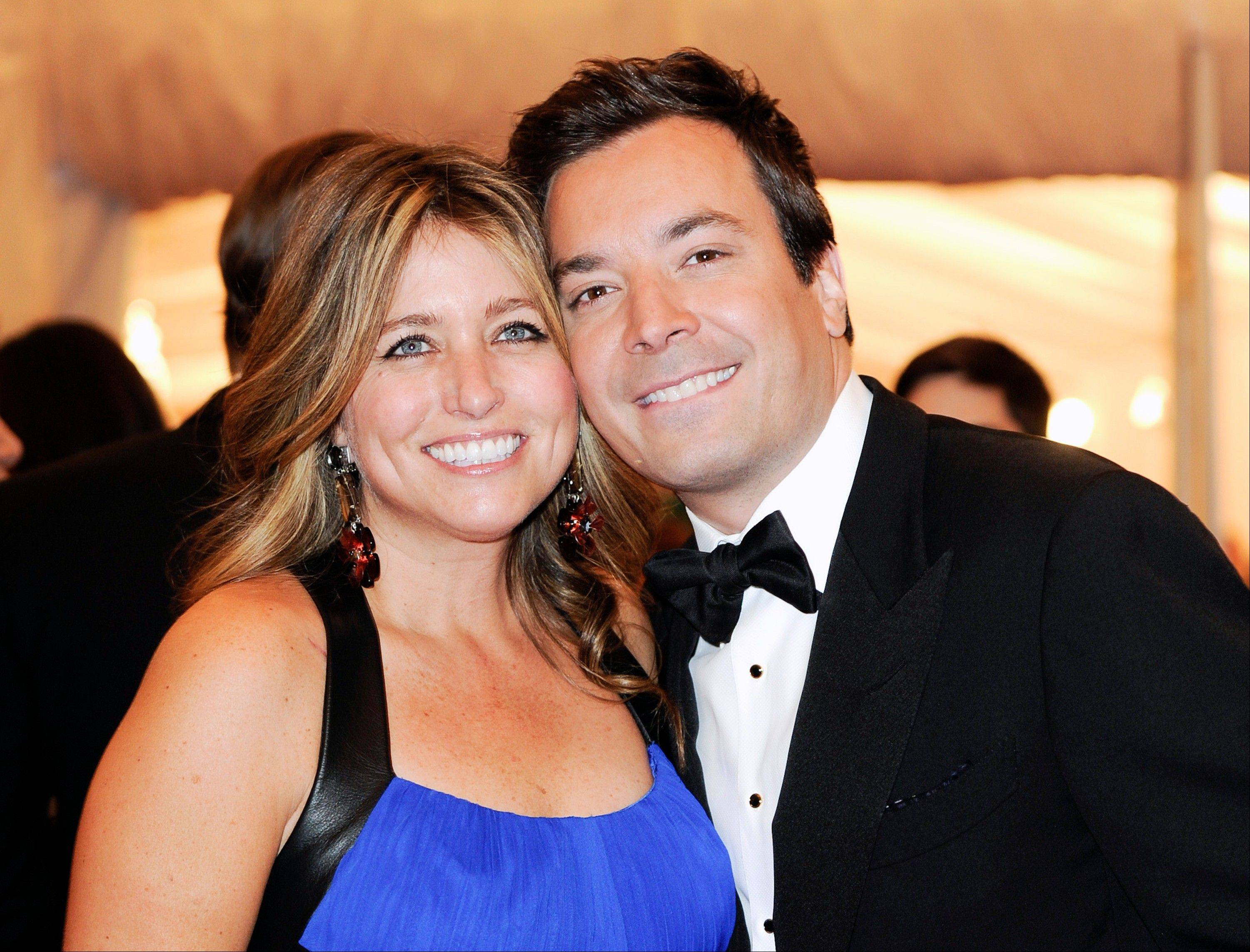 Jimmy Fallon says he and his wife Nancy Juvonen had their baby daughter with the help of a surrogate.