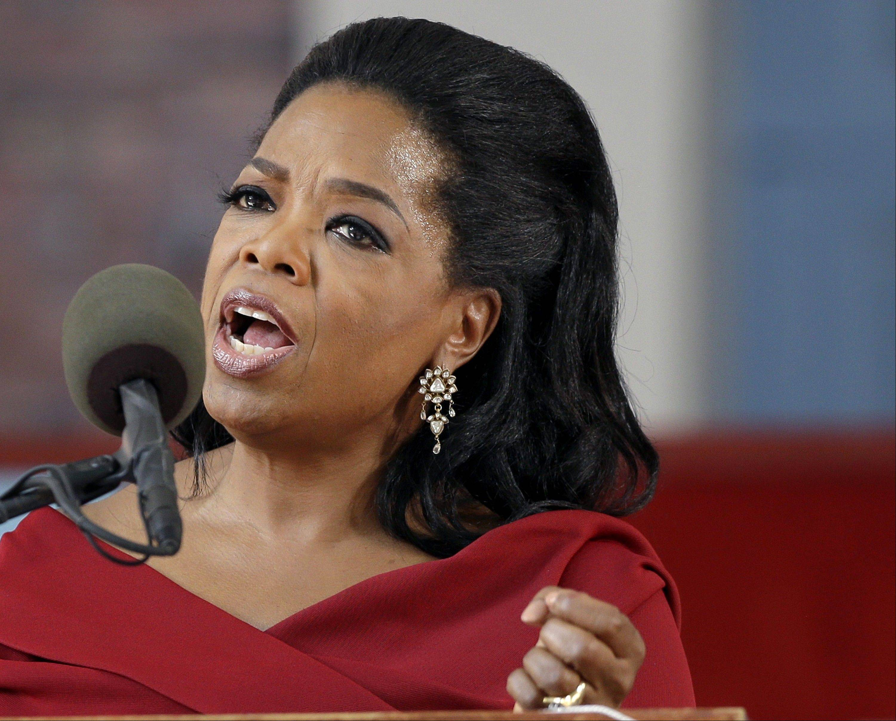 Oprah Winfrey says she had a racist encounter while shopping in Switzerland — and the apologetic national tourist office agrees.