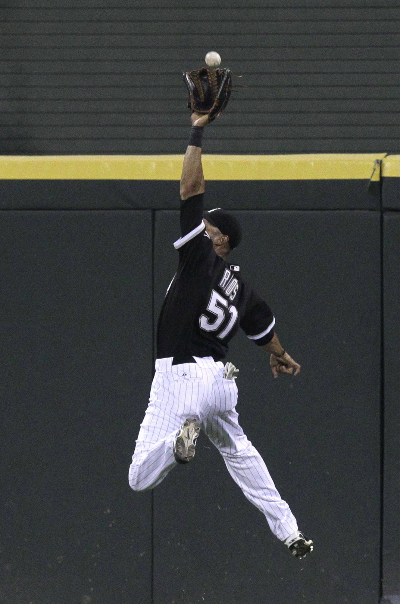 White Sox outfielder Alex Rios has been traded to the Texas Rangers.