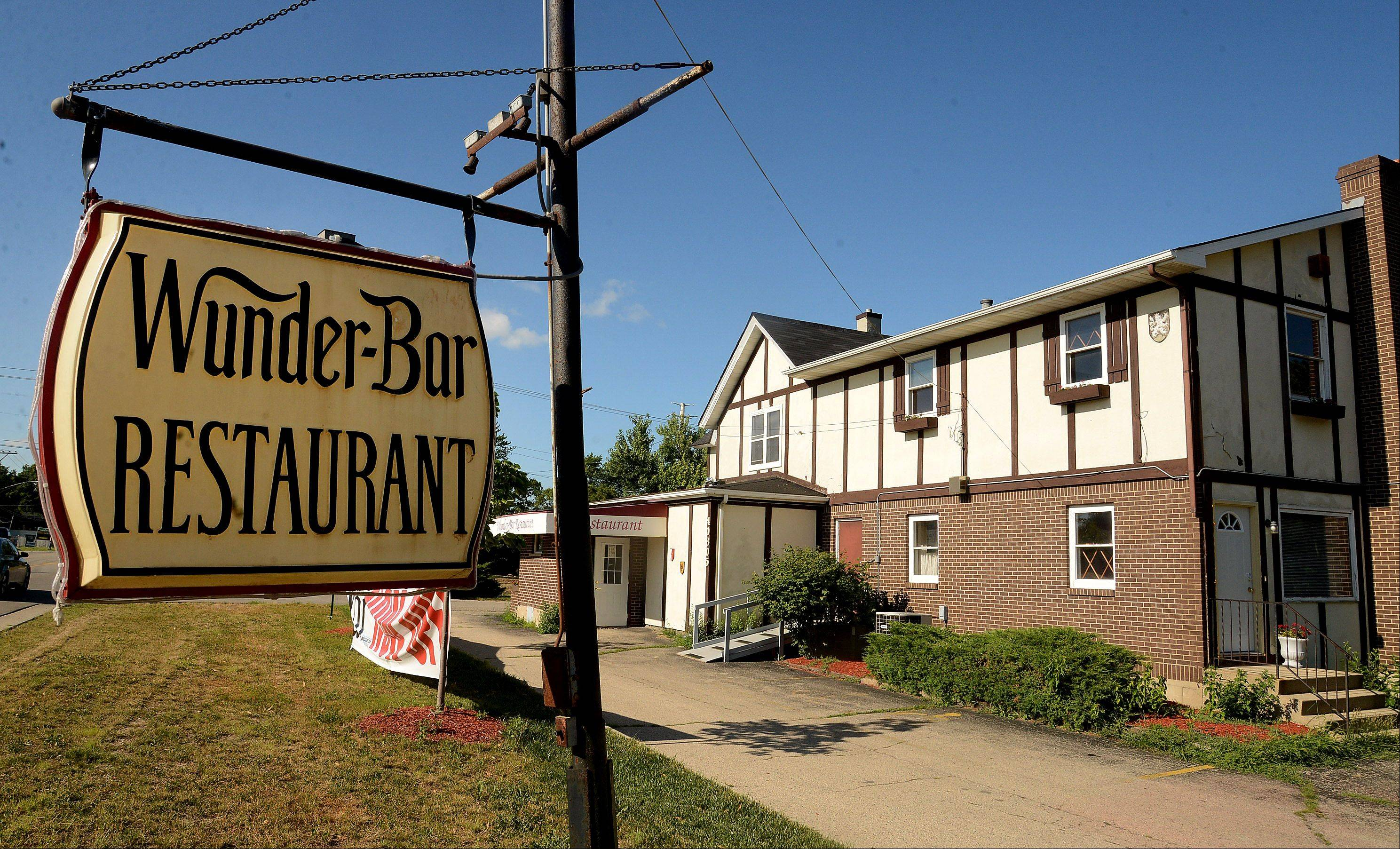 Wunder-Bar restaurant in Antioch serves German and American fare.