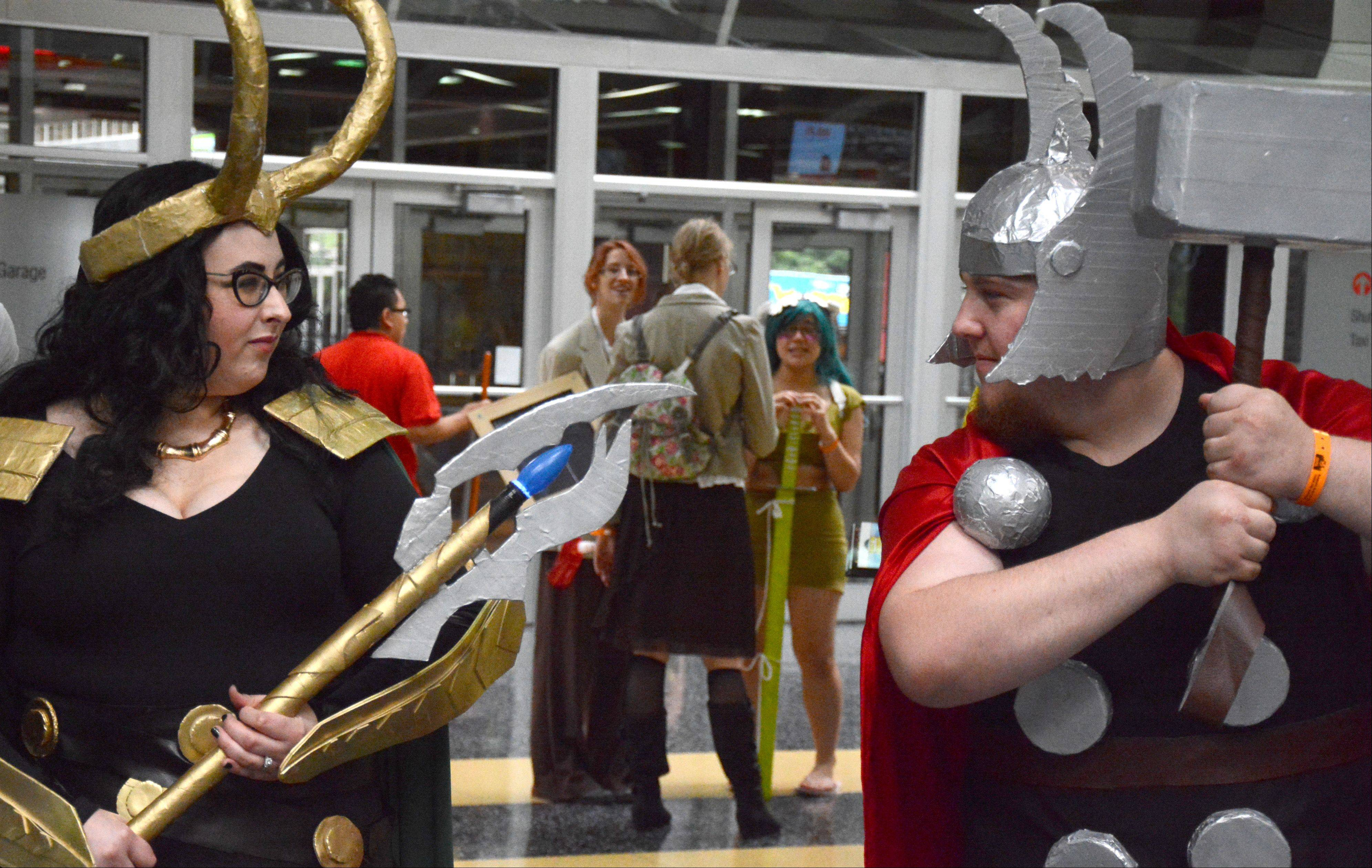 Images from Comic Con Friday, August 9.