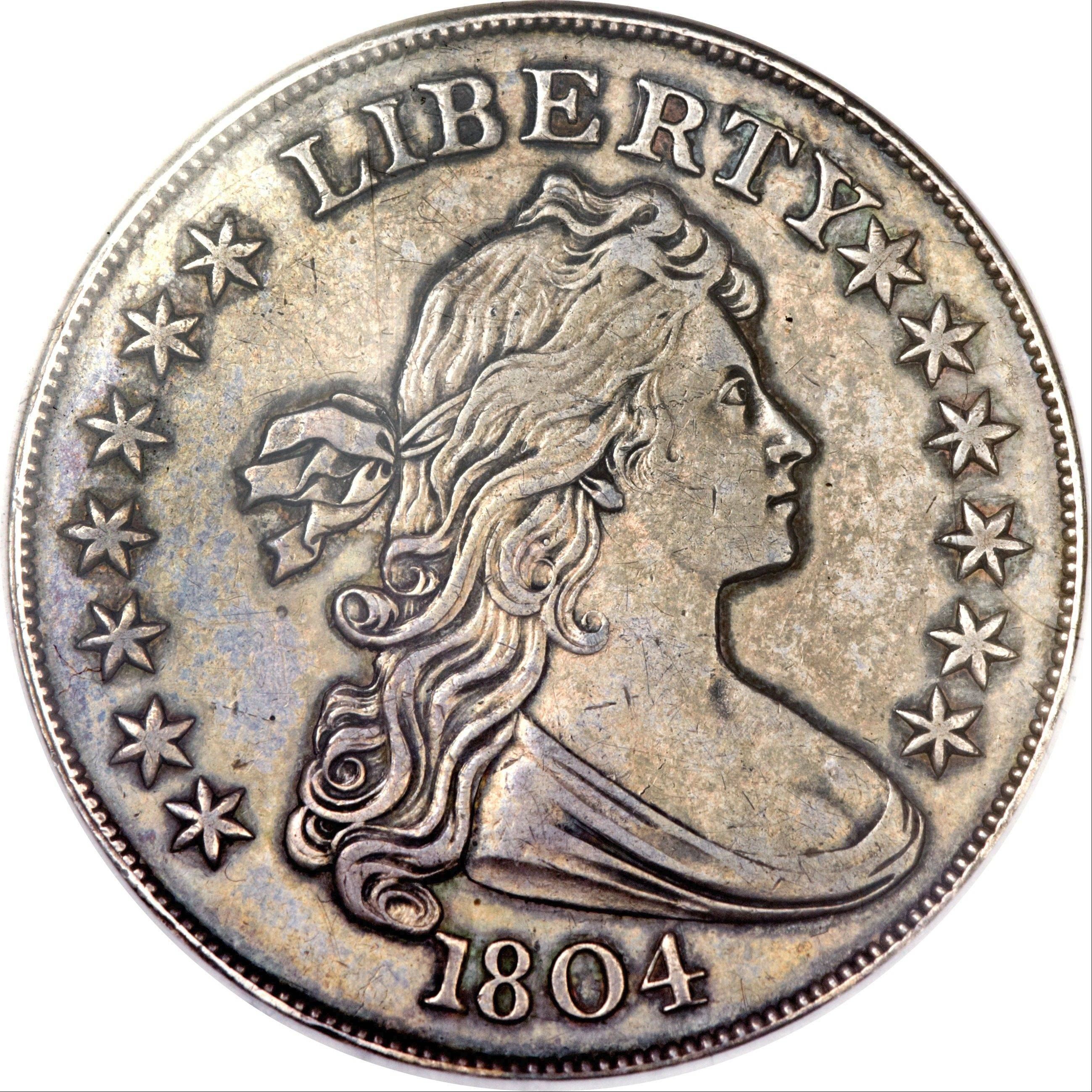 This U.S. silver dollar sold Thursday night for $3,877,500.