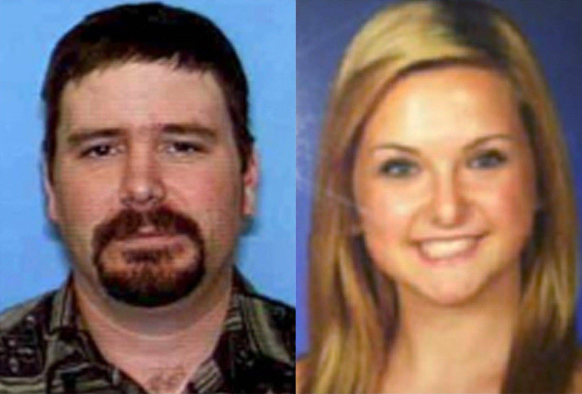 James Lee DiMaggio, 40, left, and Hannah Anderson, 16. A search ended Saturday for DiMaggio, suspected of abducting 16-year-old family friend Hannah. DiMaggio is suspected of killing Hannah's mother and her 8-year-old brother.