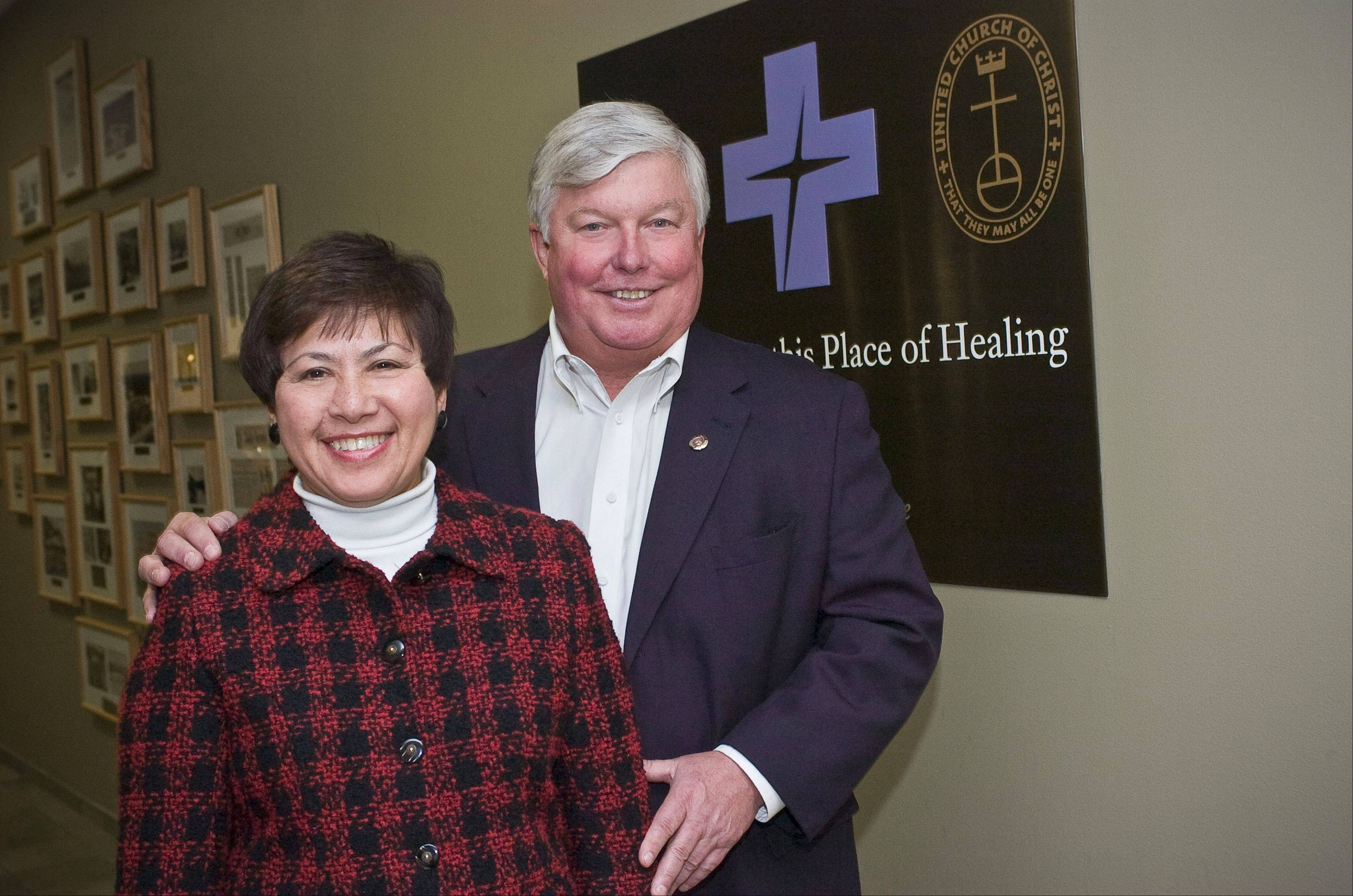 Sandy and Vince Lovelle of Naperville will be recognized as Good Samaritans of the Year at Advocate Good Samaritan Hospital's major fundraising event this fall.